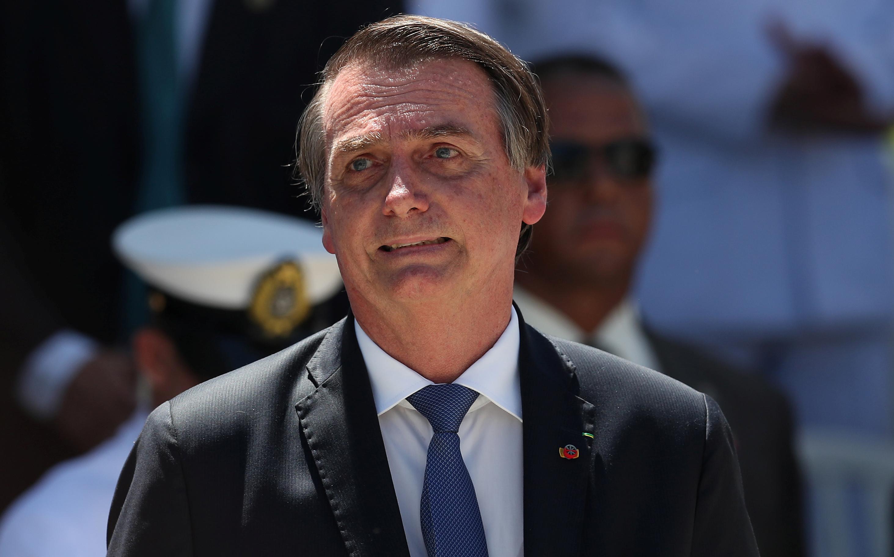 El presidente de Brasil, Jair Bolsonaro (REUTERS/Ricardo Moraes)