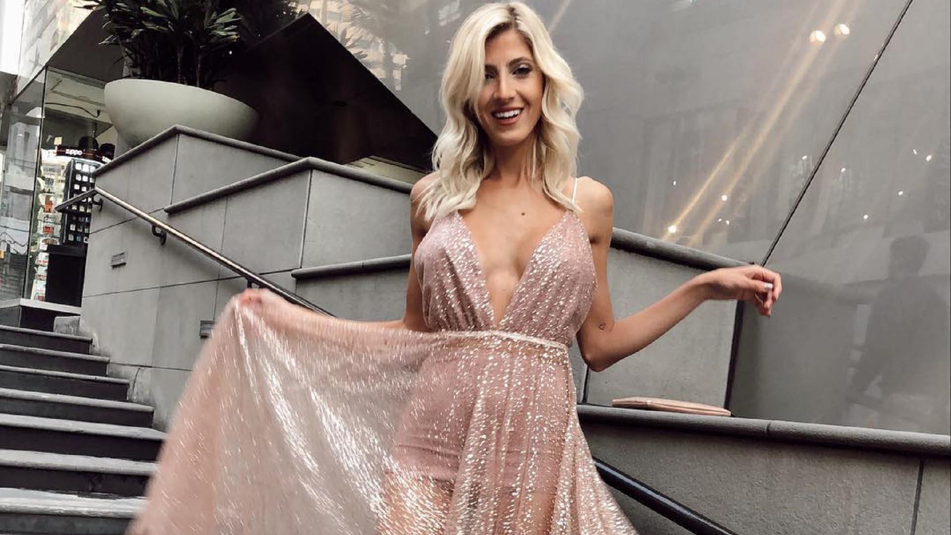 Cande Ruggeri llegó a Hollywood, la modelo viajó a Los Ángeles para trabajar con Marvel (Foto: Instagram)