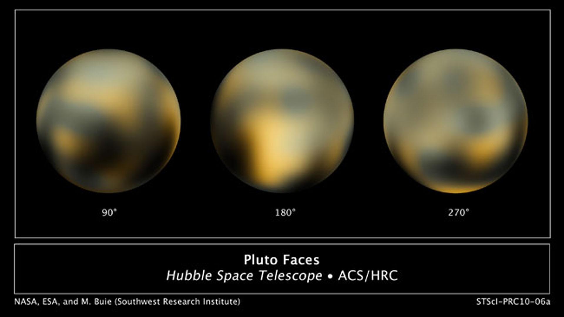 Nix e Hidra, dos nuevas lunas de Plutón, descubiertas por el Hubble