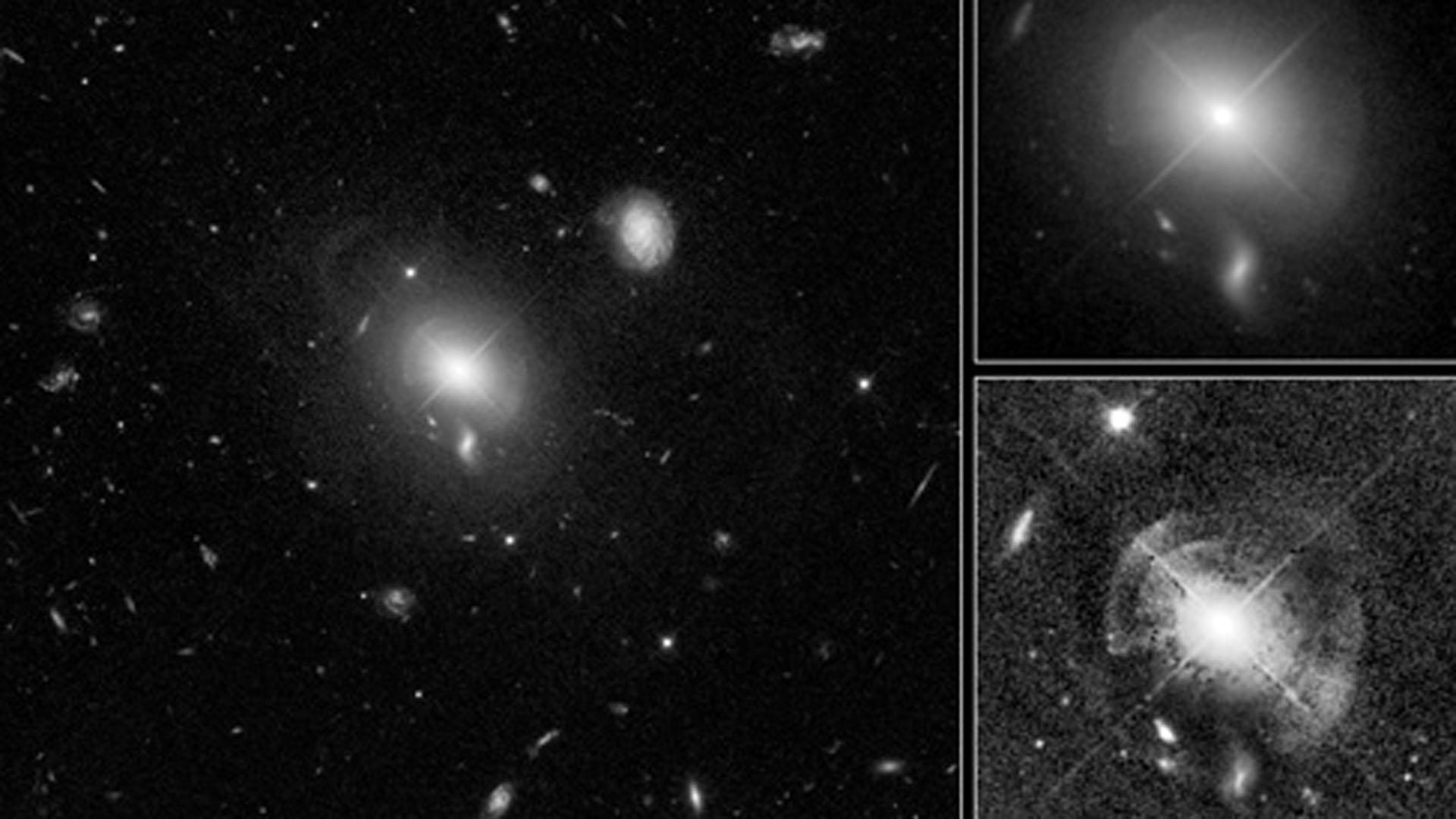 El Hubble hizo importantes avances en el estudio de los agujeros negros