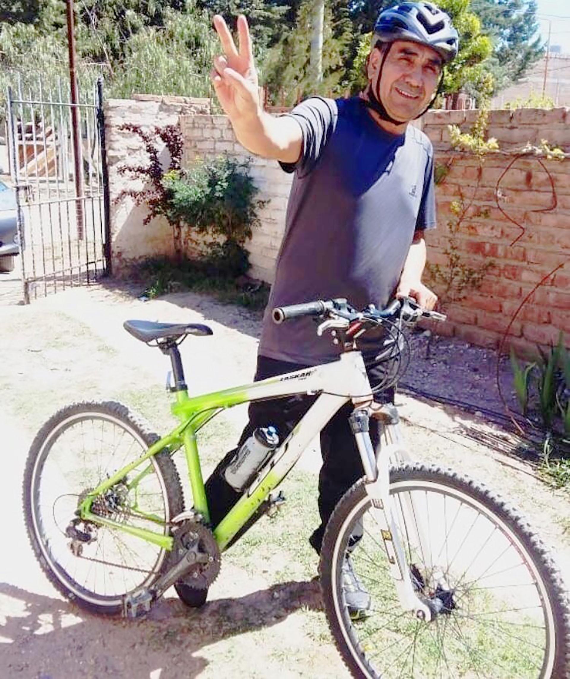 Rioseco pedalea al menos una hora todos los días y el domingo no será la excepción