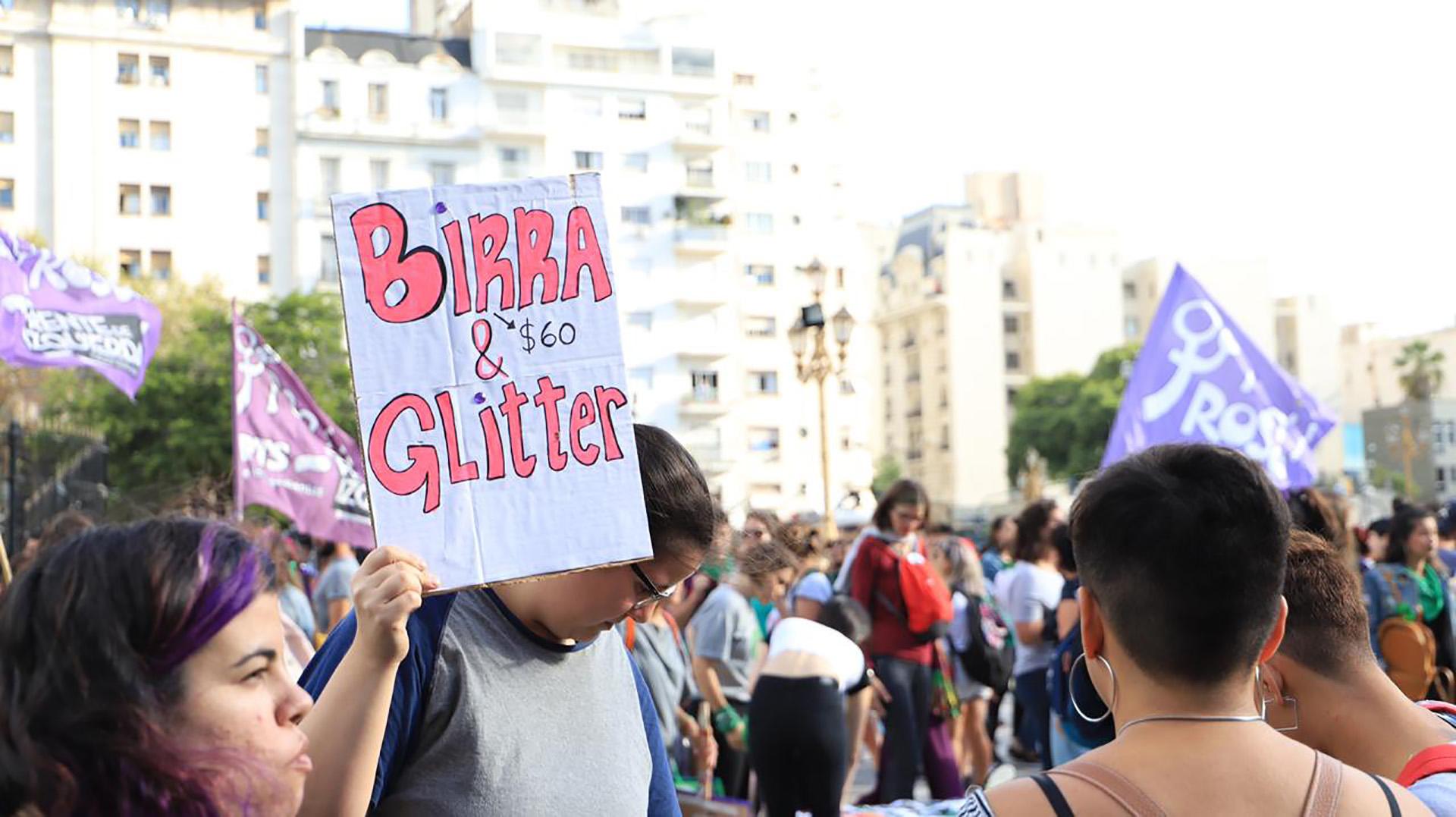 Las manifestaciones se replicaron en varios puntos del país (Lihueel Althabe)