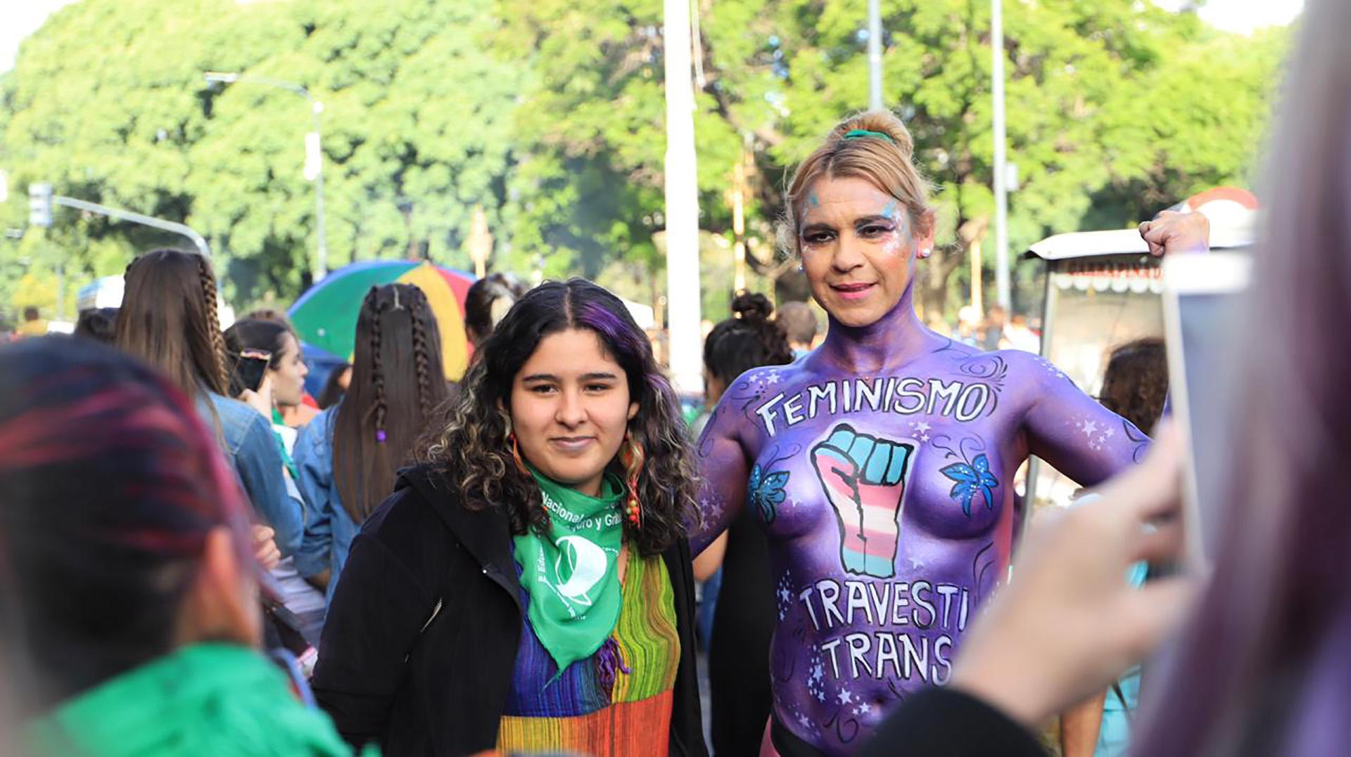 Durante varias semanas, distintas agrupaciones feministas organizaron en asamblea cómo sería la jornada del 8M, que incluyó un Paro Nacional de Mujeres (Lihueel Althabe)