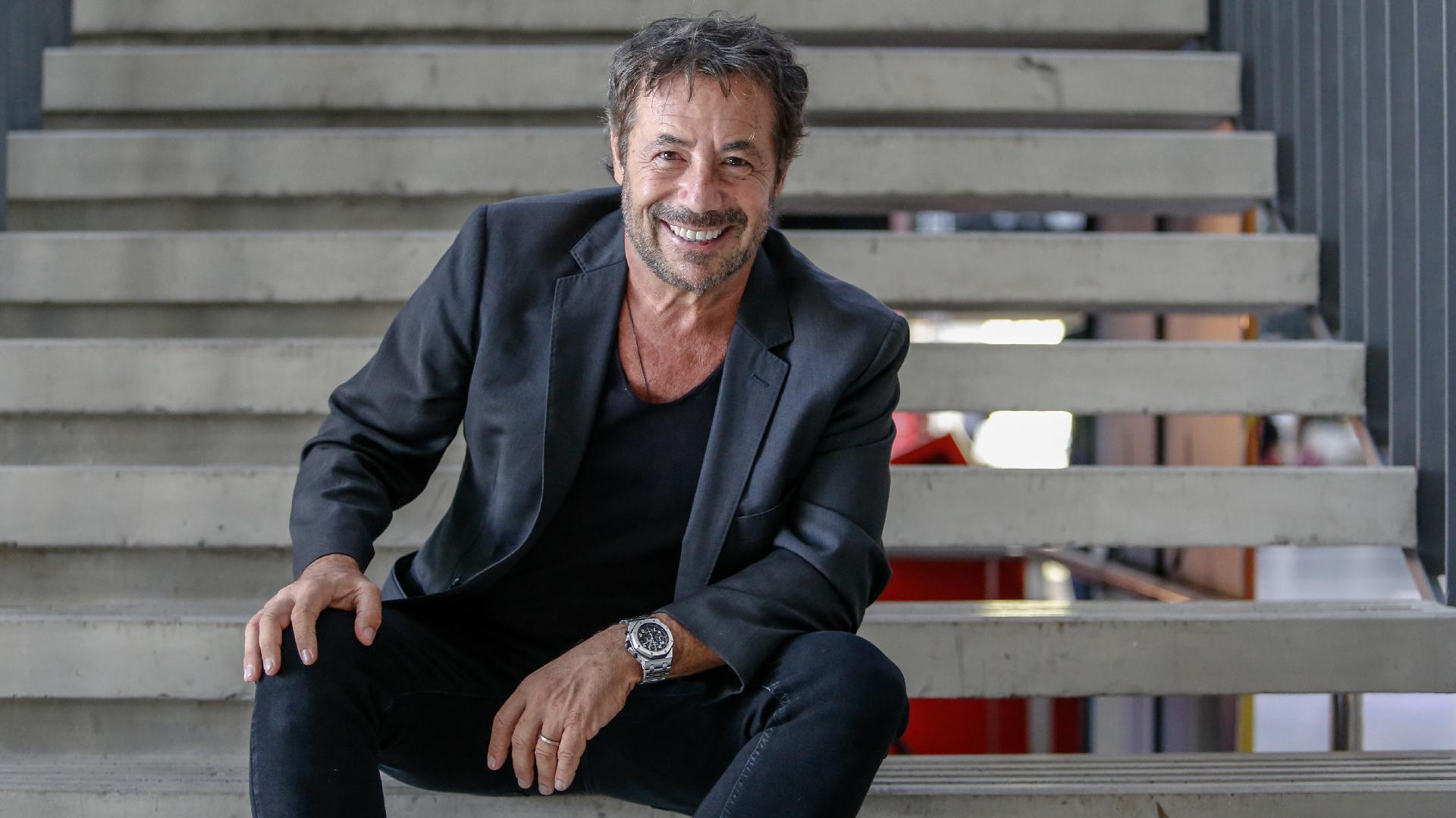 Ricky Sarkany, el reconocido zapatero argentino, fue el moderador de la charla con Custo Dalmau