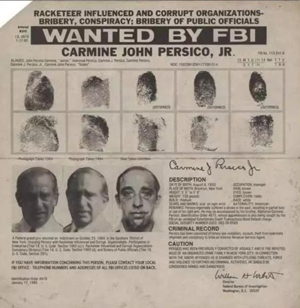 Carmine Persico se convirtió en un héroe popular en ciertas áreas de Brooklyn (Foto: AnneDrumpf)
