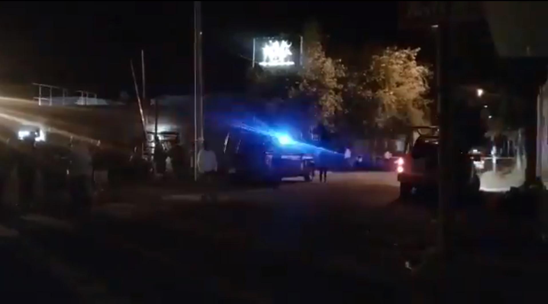 El ataque se registró la madrugada de este sábado cuando varios hombres fuertemente armados llegaron al sitio (Foto: captura de pantalla de @BELLATRIX_RAZO)