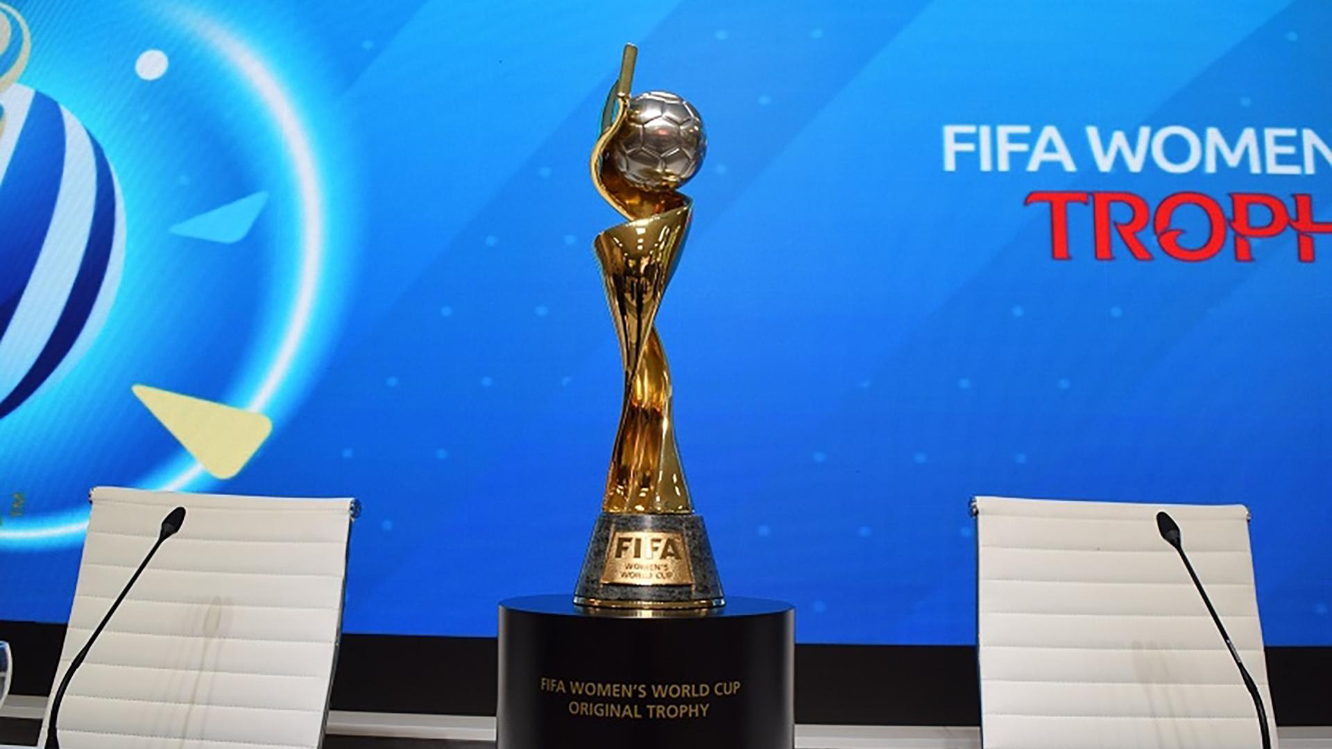 El trofeo del Mundial de Francia 2019