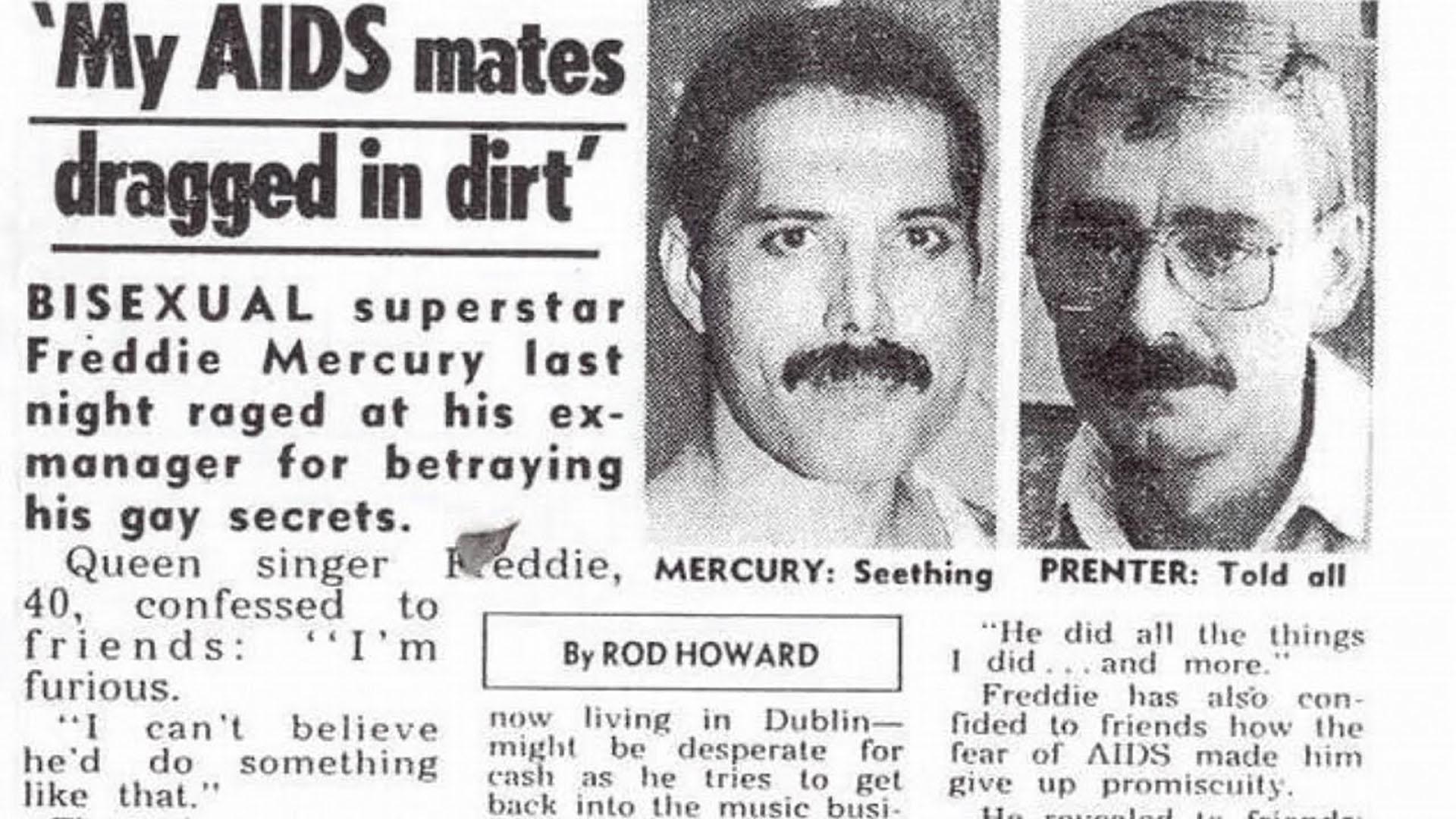 Amores, confesiones y traición: el hombre que vendió a Freddie Mercury por  32 mil libras - Infobae