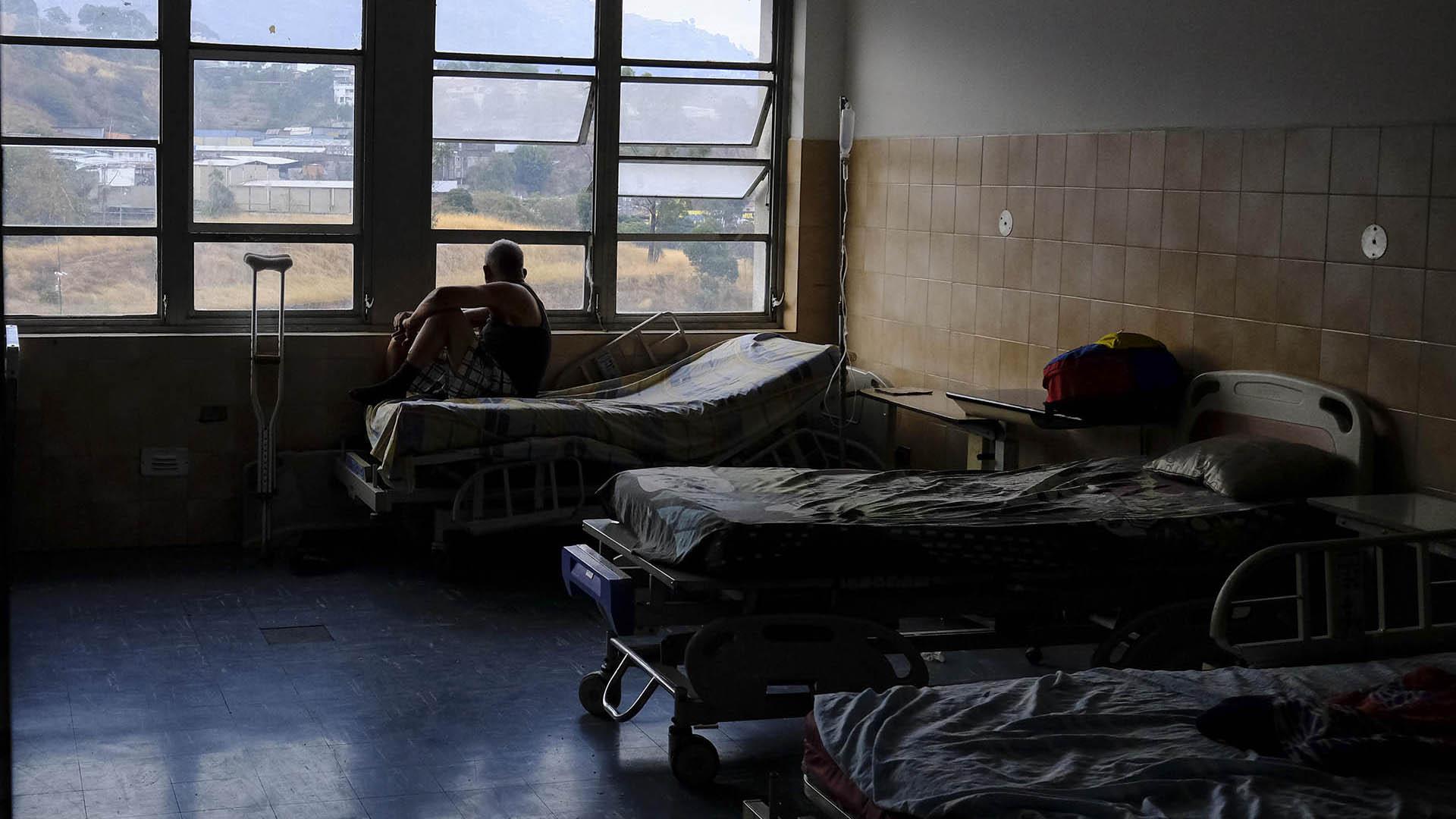 La crisis sanitaria se agrava año a año en Venezuela (AFP)