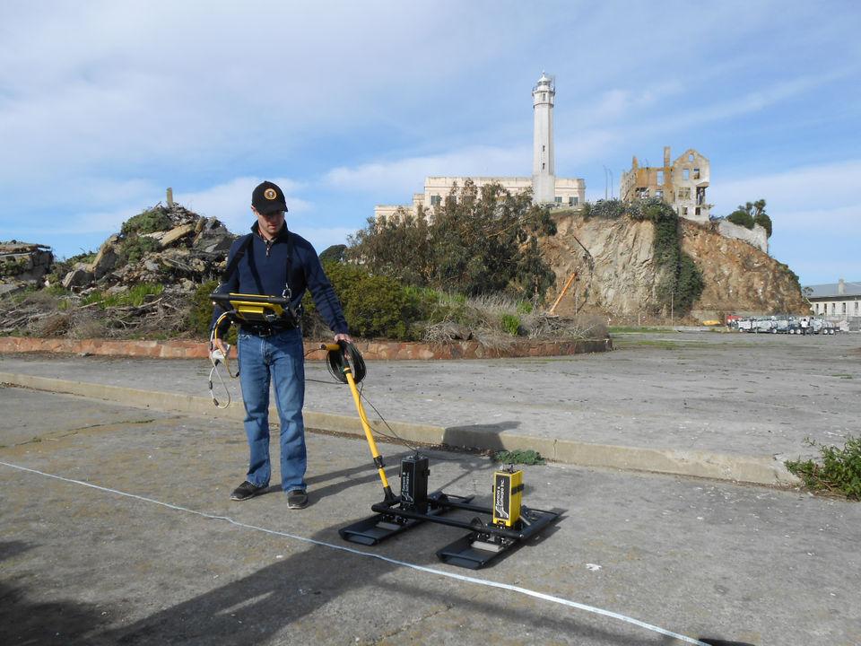 En las tareas de investigación los expertos utilizaron radares de alta tecnología y exploraciones láser para no dañar la estructura del reclusorio (Foto: Universidad de Bighamton)