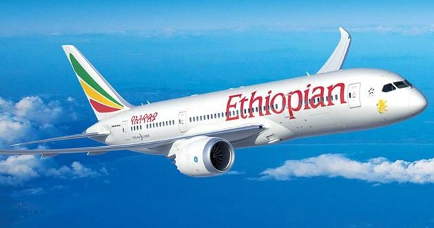 Una aeronave de Ethiopian Airlines