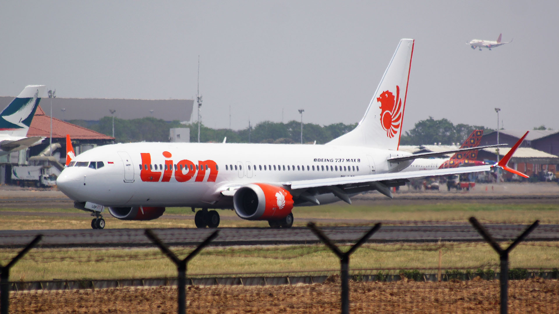 Un 737 MAX 8 de Lion Air, como el que se accidentó en octubre de 2018 (Wikipedia)