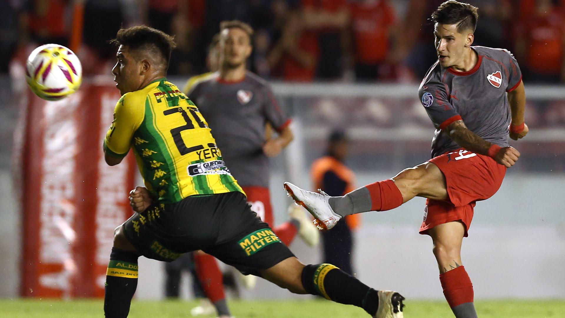 El conjunto marplatense viene de perder en su visita a Avellaneda frente a Independiente. (Foto Baires)