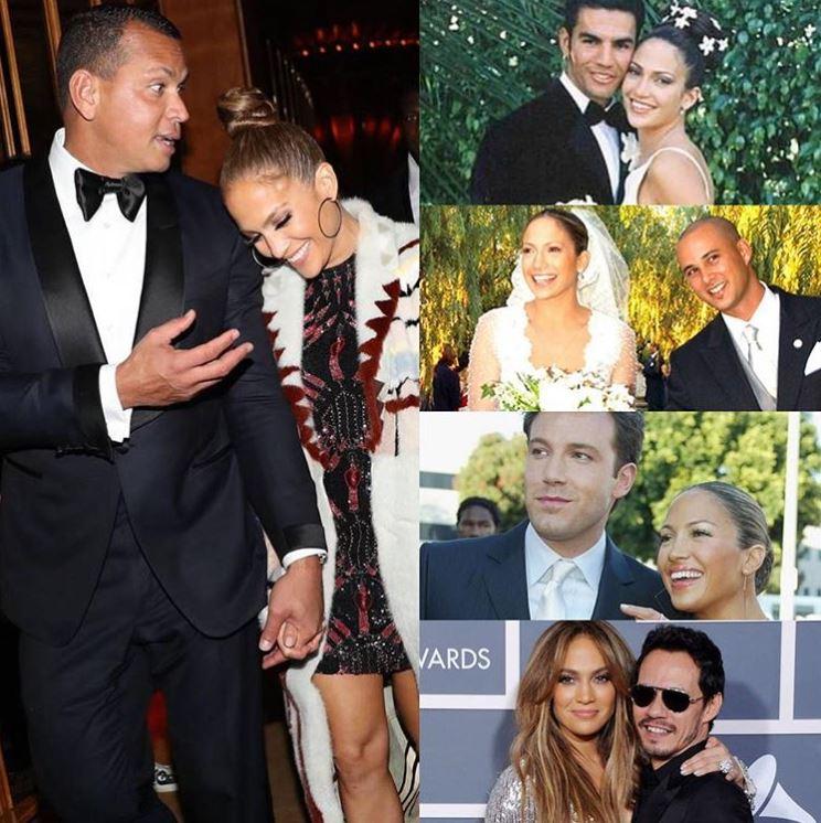Jennifer Lopez ha dicho que le han propuesto matrimonio 6 veces, pero públicamente sólo se conocen 5 de ellos (Foto: Instagram Un Nuevo Dia)