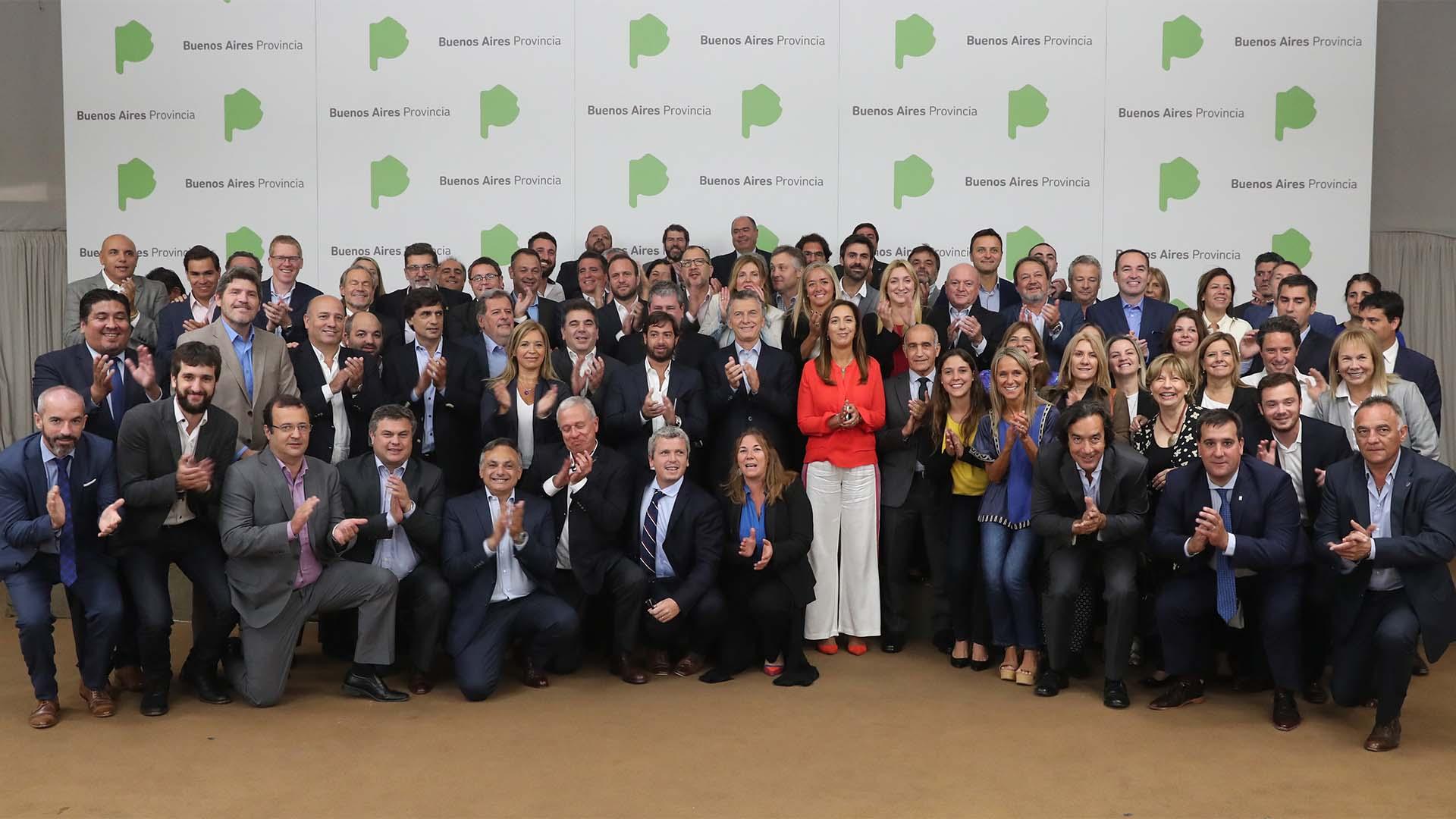 Macri junto a todo el gabinete bonaerense
