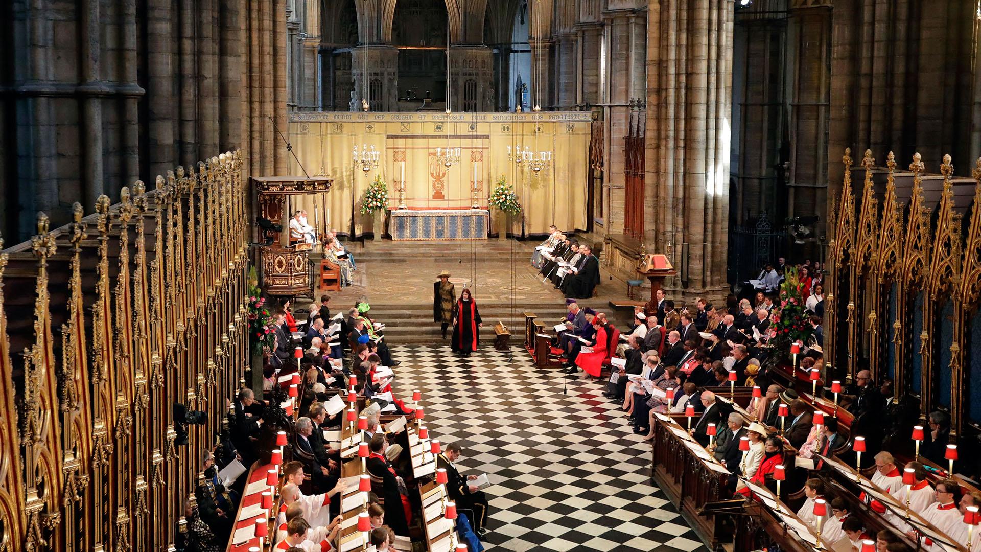 Como cada año, el acto fue presedido por la reina Isabel II