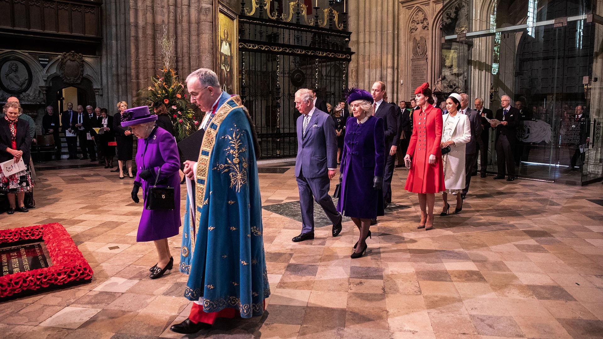La reina Isabel II fue la encargada de liderar el evento que sigue las tradiciones protocolares de la realeza británica