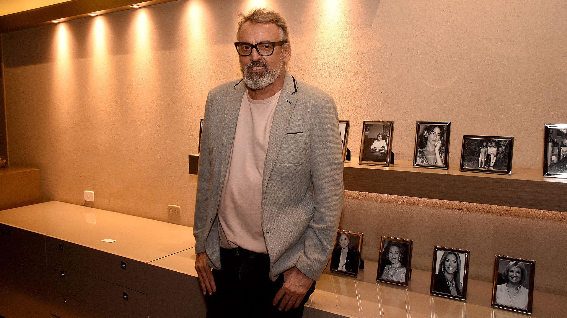 El diseñador Benito Fernández acompañó la ceremonia