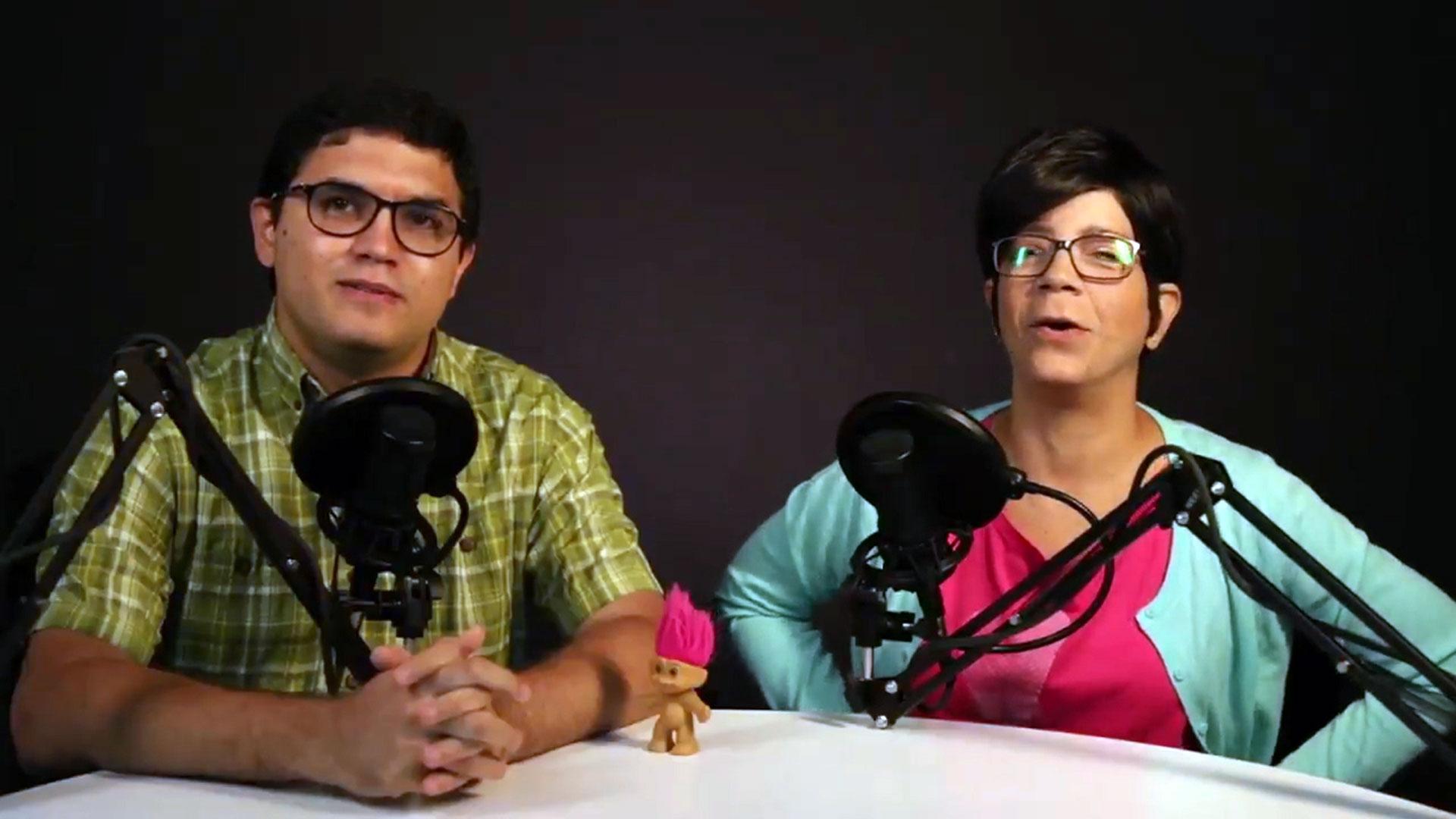 Luis Carlos Díaz junto a su esposa, Naky Soto