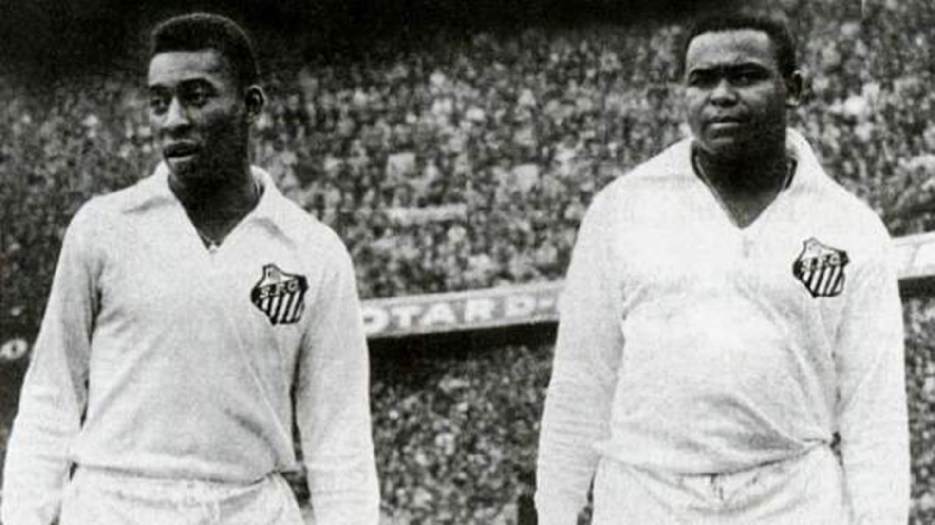 Pelé y Coutinho en el Santos