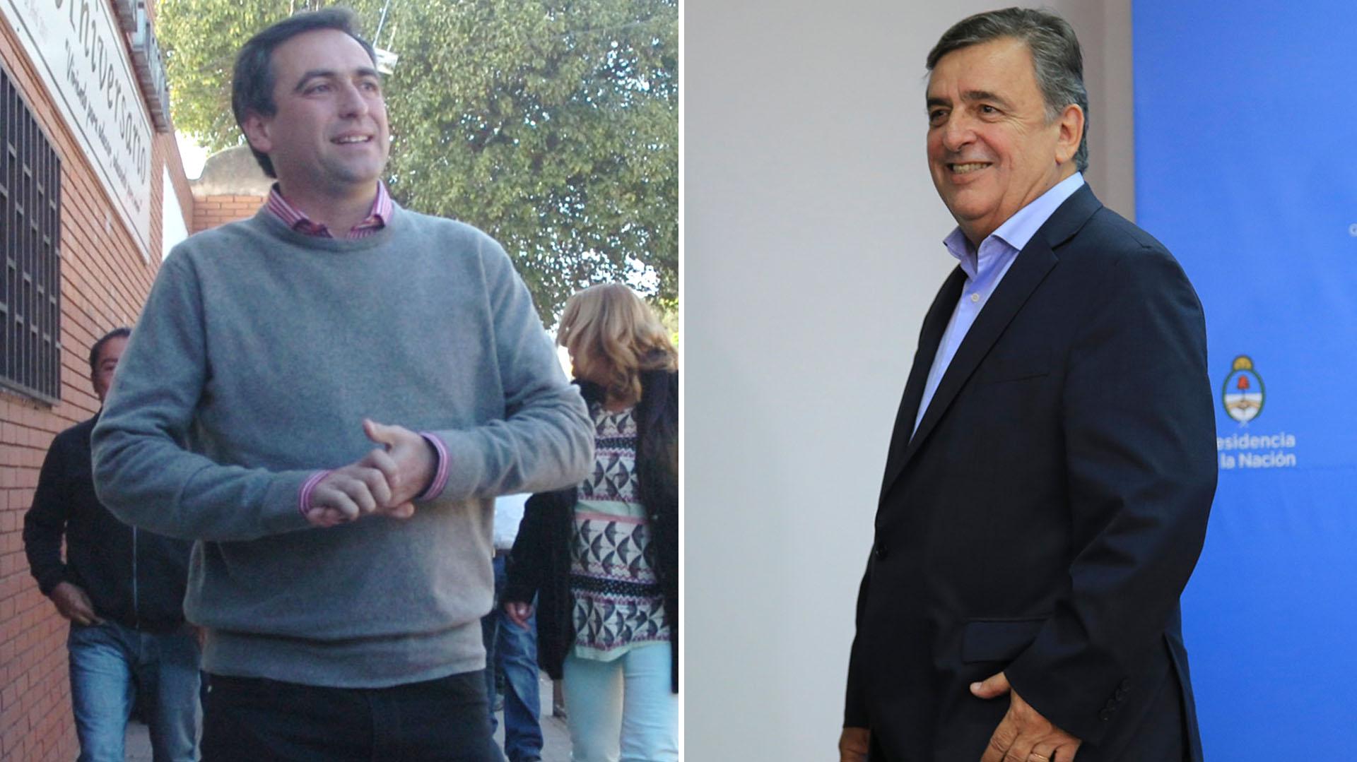 Ramón Mestre y Mario Negri se enfrentarán en Córdoba