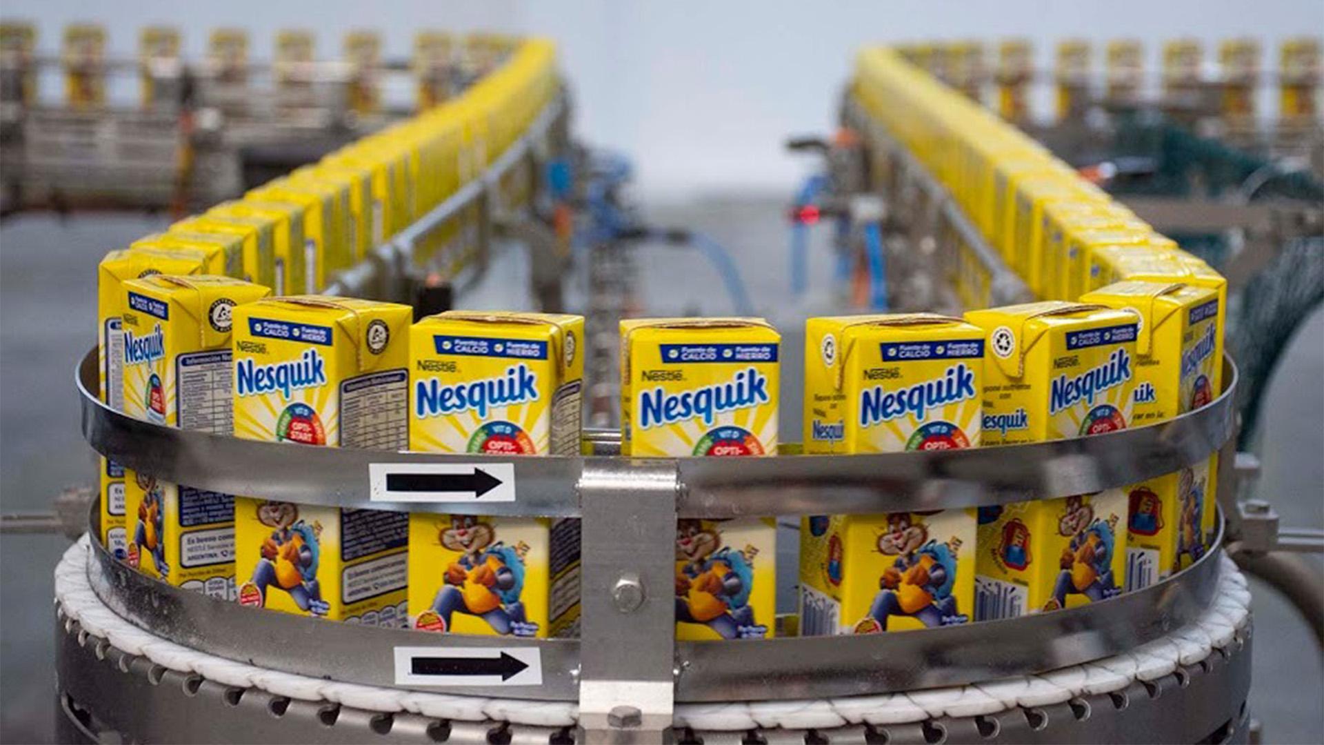 Hace un año Nestlé produce chocolatada líquida a nivel local. Ahora hará leche blanca, pero sólo las de alto valor agregado