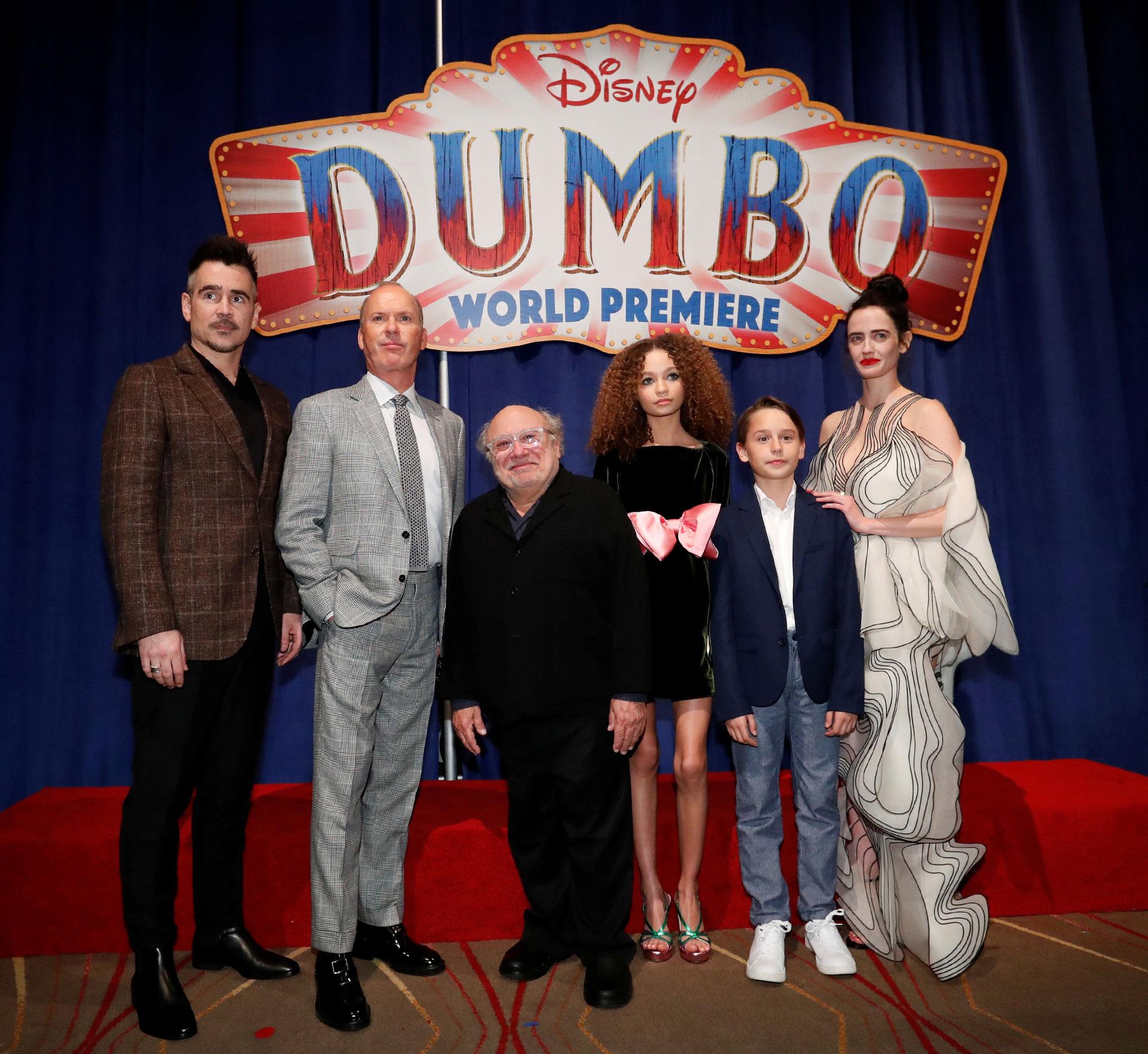 El cast completo del film 'Dumbo'