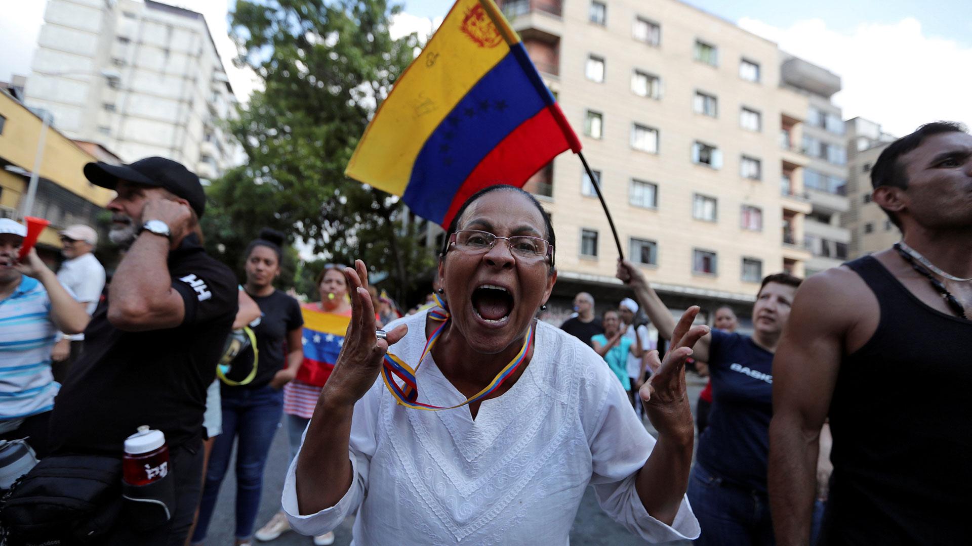 Queja opositora en Caracas (Reuters)
