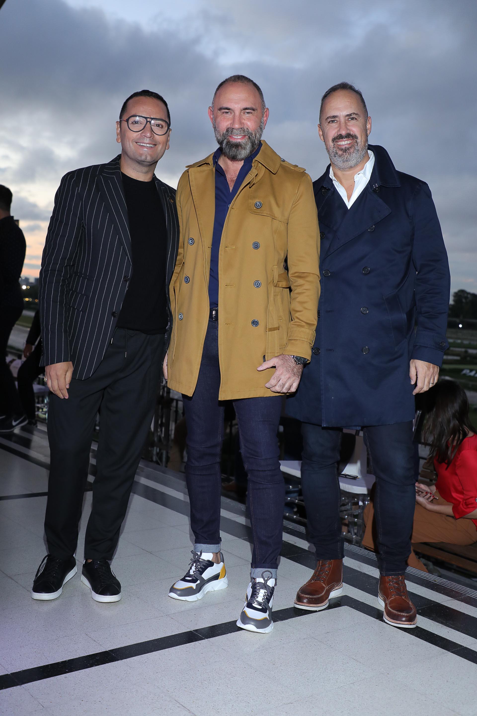 Fabián Medina Flores, Gabriel Lage y Charly Ronco