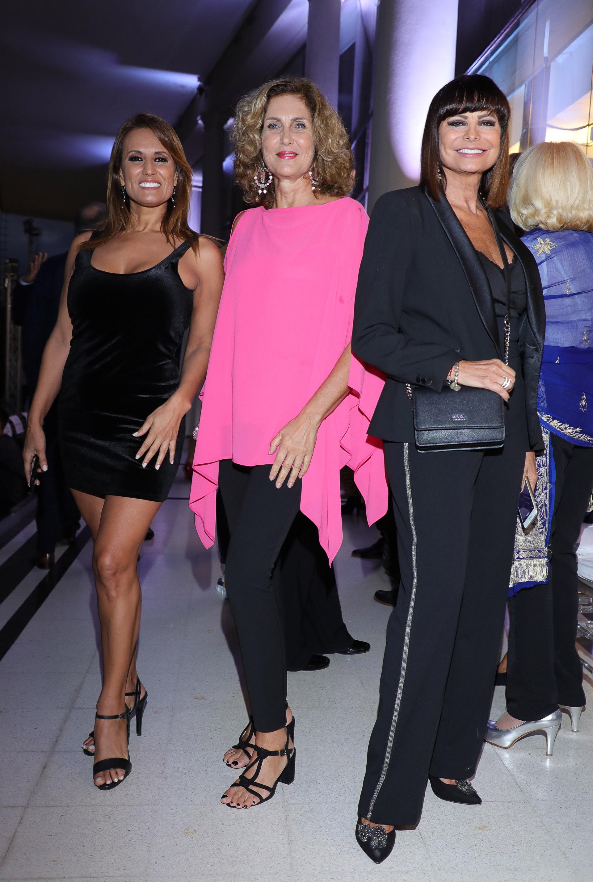 Nancy Duré, Susana Milano y Lucía Miranda