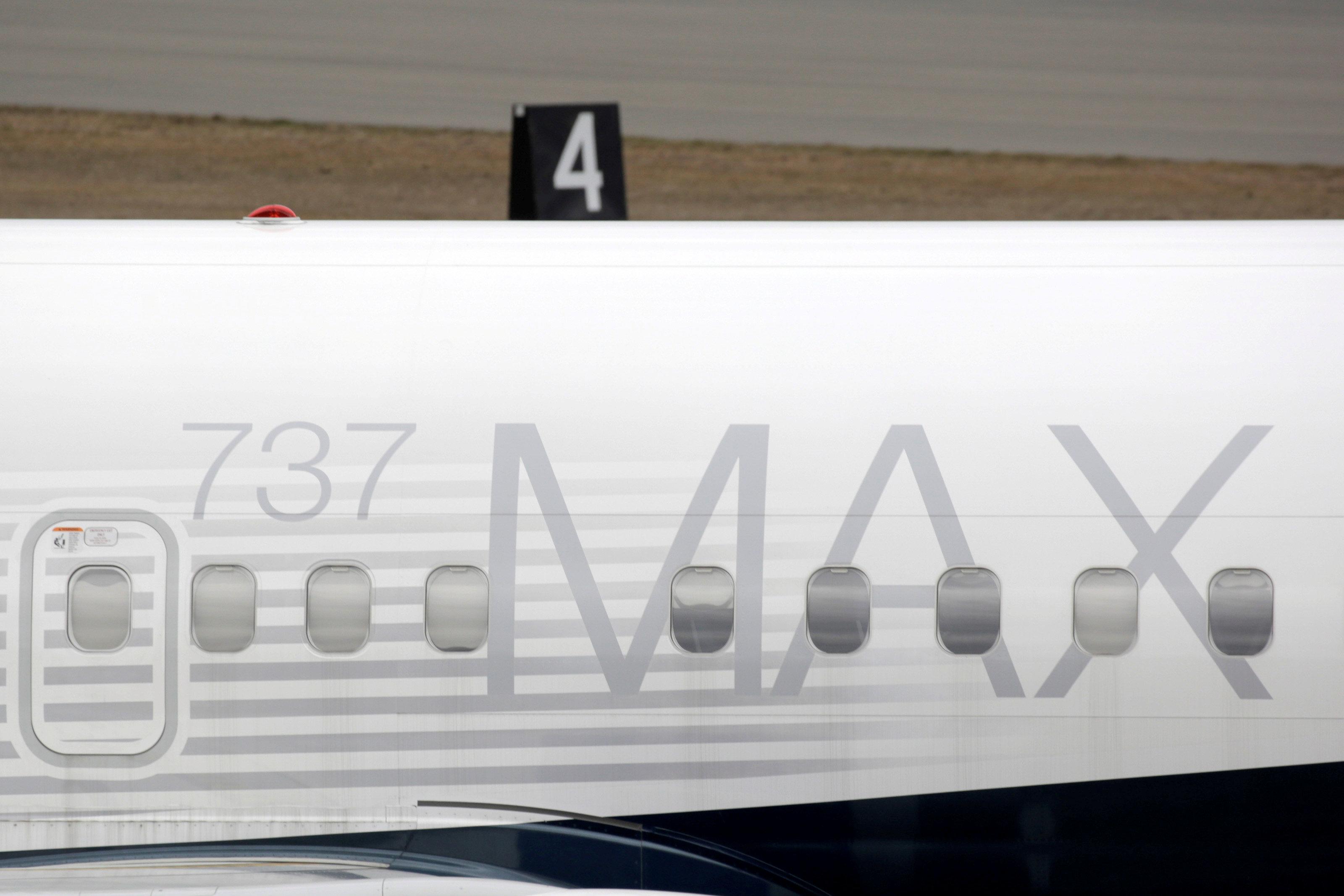 Un 737 MAX 8 en la fabrica de Boeing en Renton (REUTERS/David Ryder/archivo)