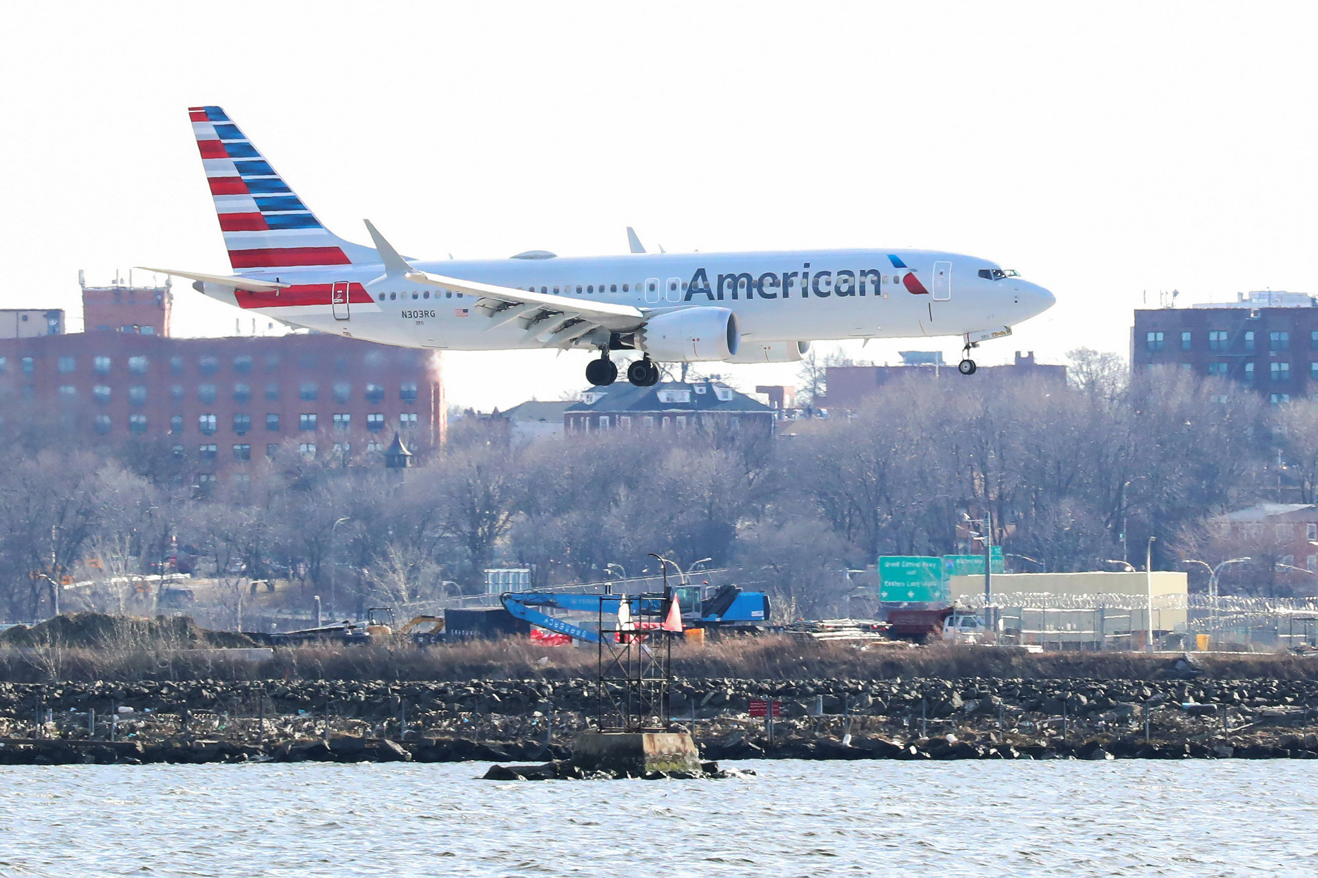 Un Boeing 737 Max 8 de American Airlines (Foto: REUTERS/Shannon Stapleton)