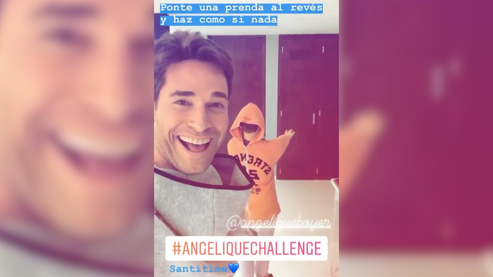 Angelique Challenge La Pifia De Angelique Boyer Y Su