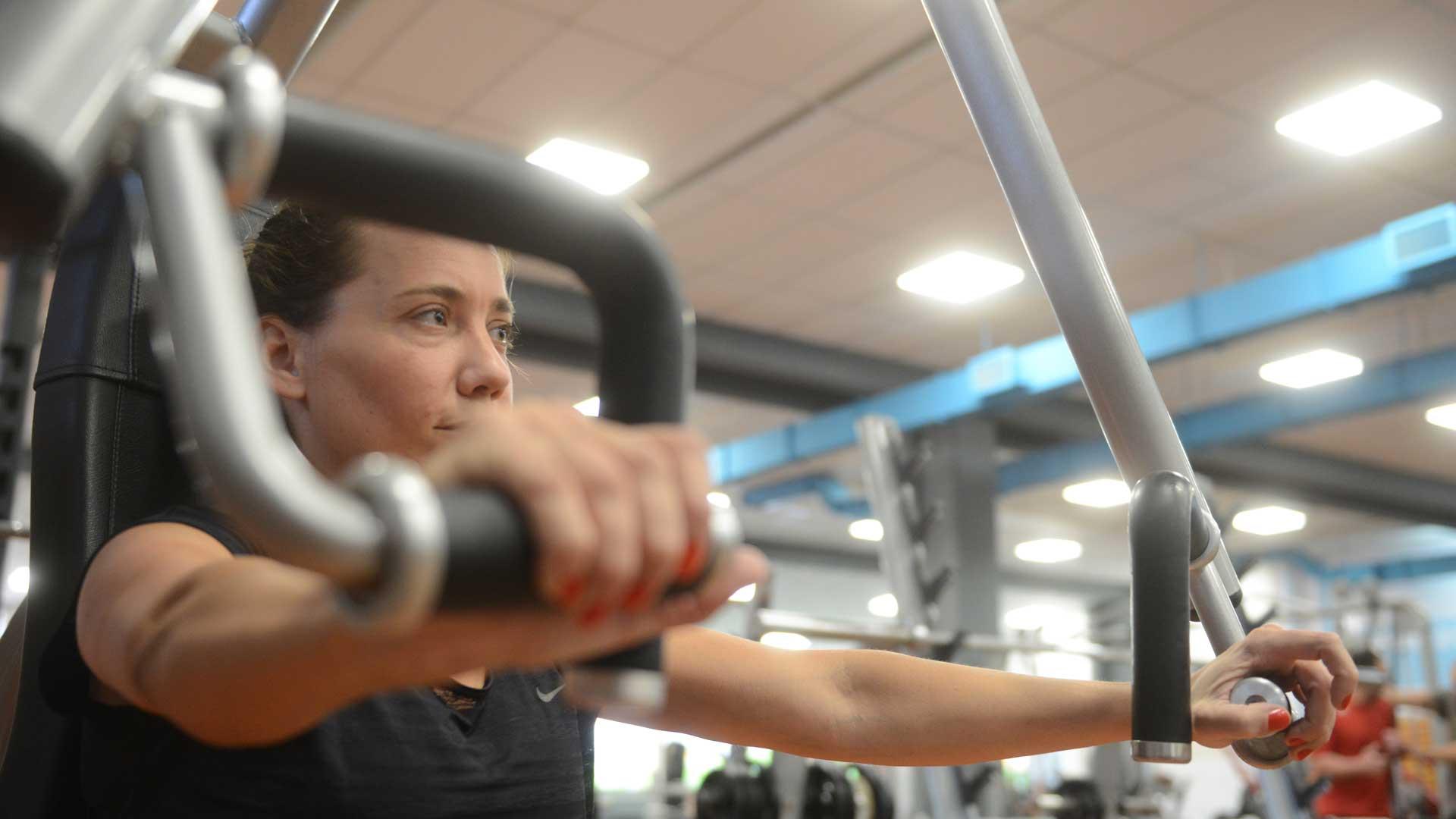El entrenamiento es hoy parte de su rutina diaria. Foto: Fernando Calzada/DEF.
