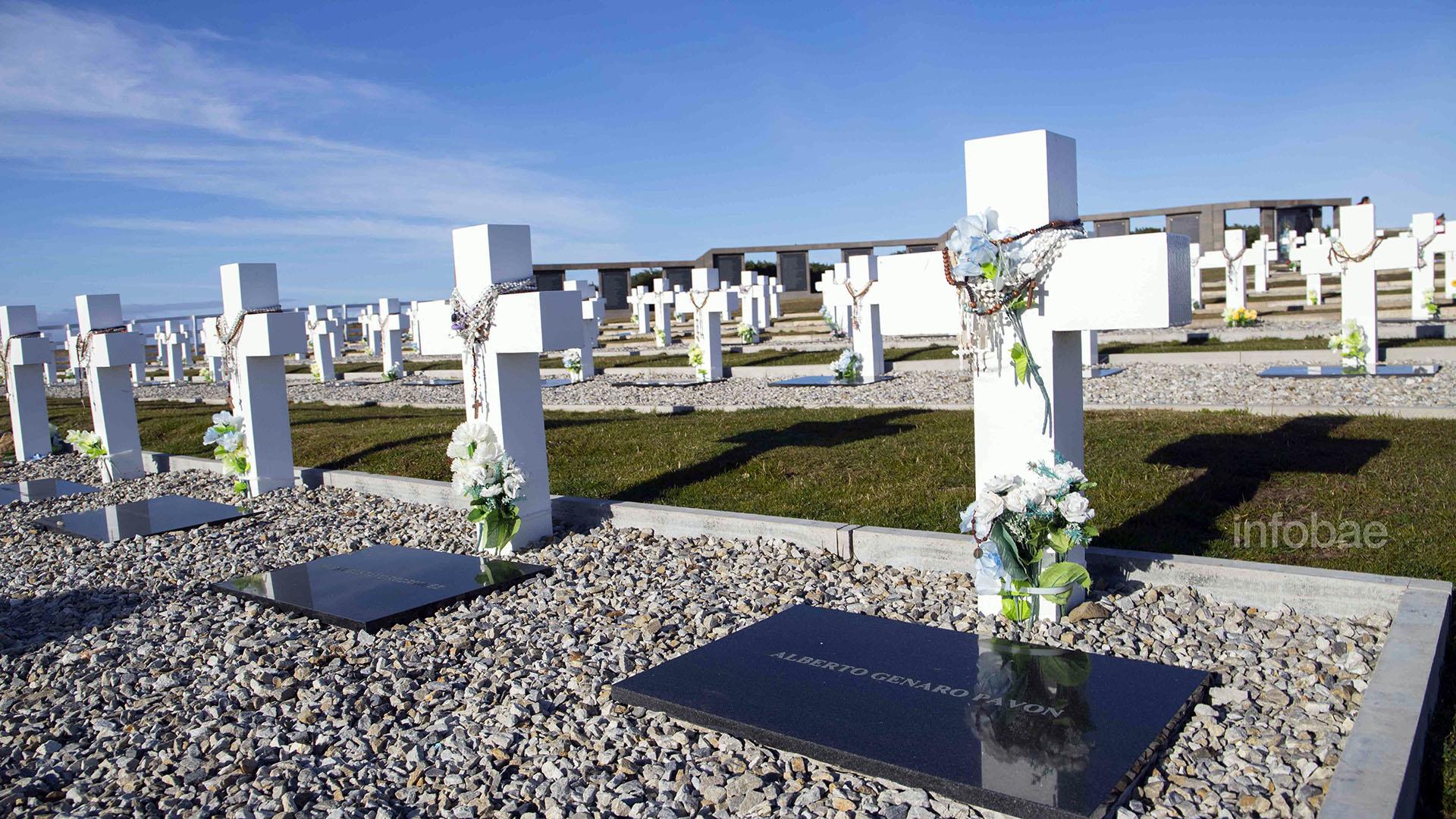 Cementerio de Darwin, islas Malvinas (Lihueel Althabe)