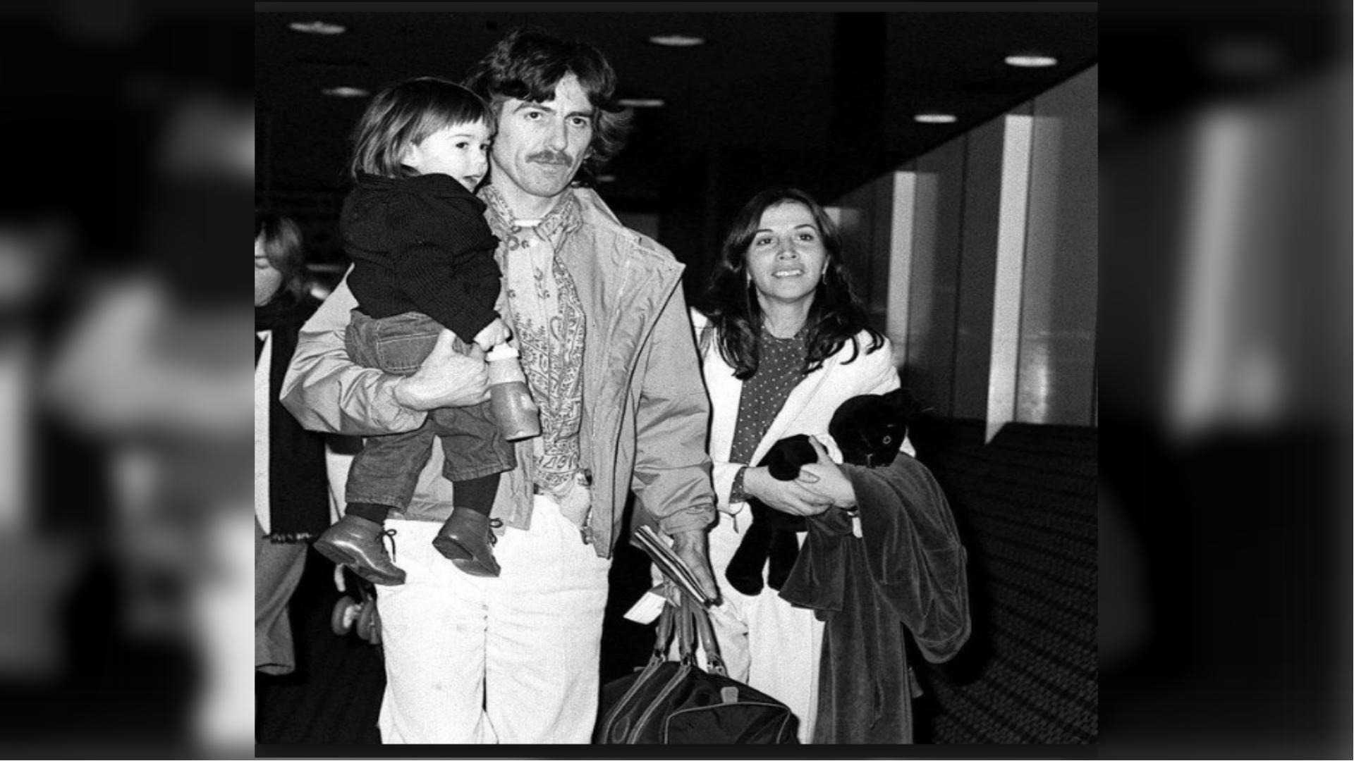 George encontró con Olivia la paz emocional y espiritual (Foto: AP)