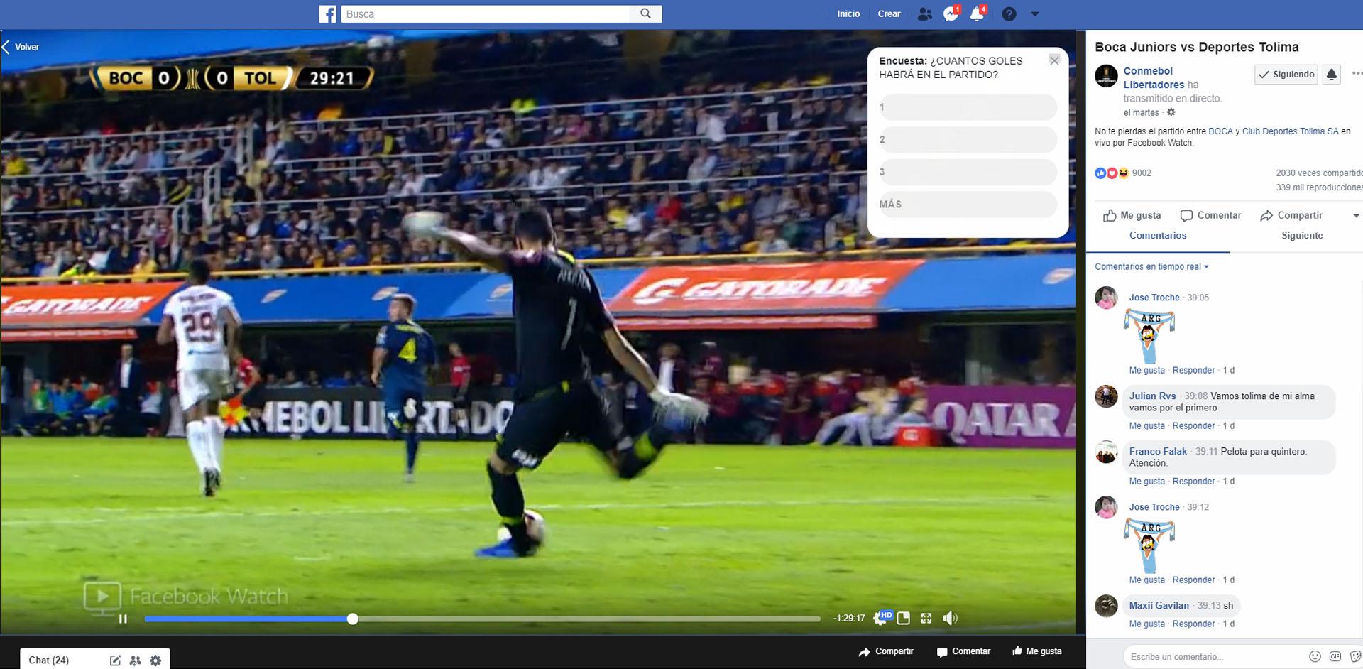La Copa Libertadores cerró un acuerdo con Facebook hasta 2022.