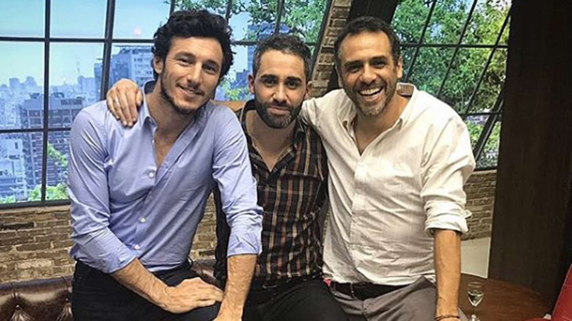 """El viejo """"Con amigos así"""" con Pico Mónaco, Pollo Álvarez y Mariano Zabaleta"""