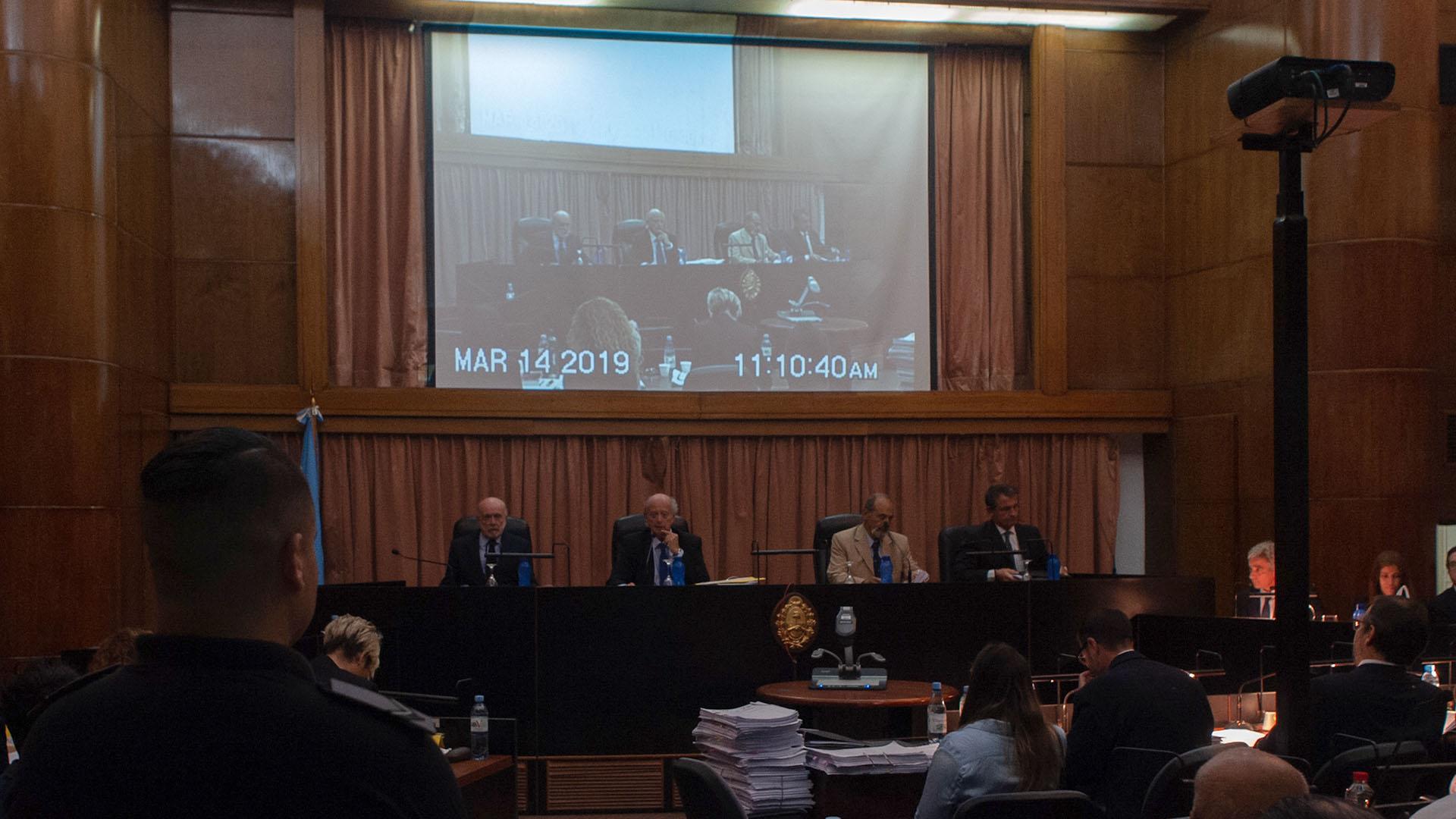 El tribunal que juzga a Minnicelli