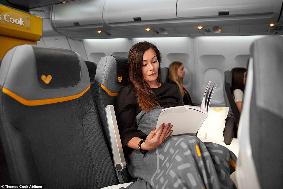 El asiento está disponible para adultos y niños mayores de 12 años (Foto: @Thomas Cook Airlines)