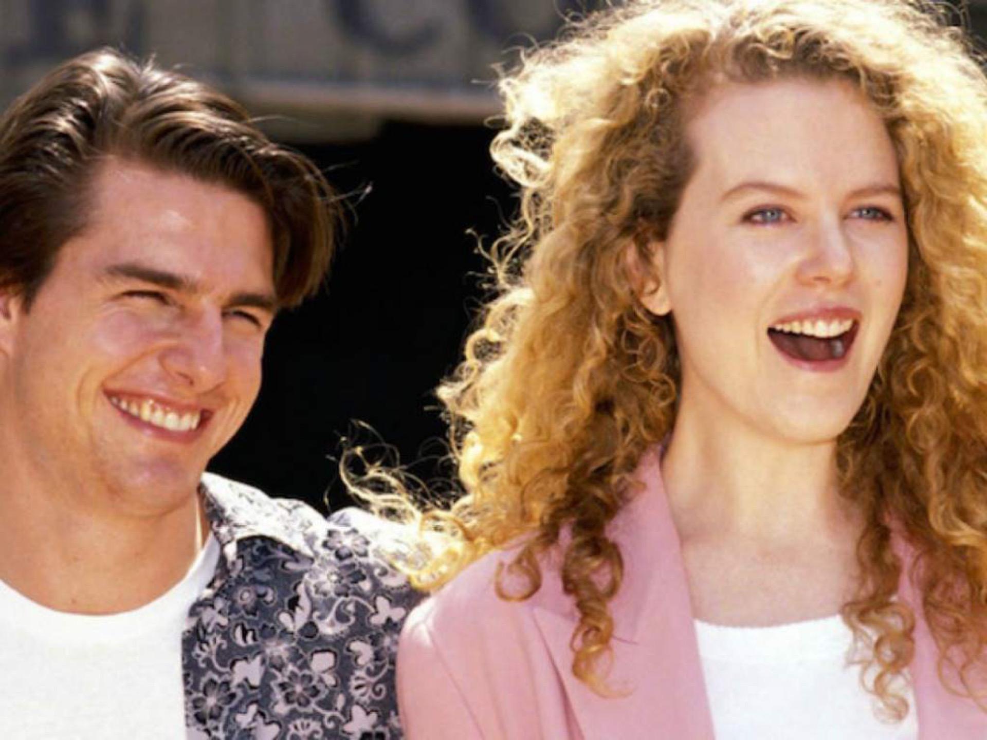 Nicole Kidman y Tom Cruise en Días de trueno de Tony Scott.