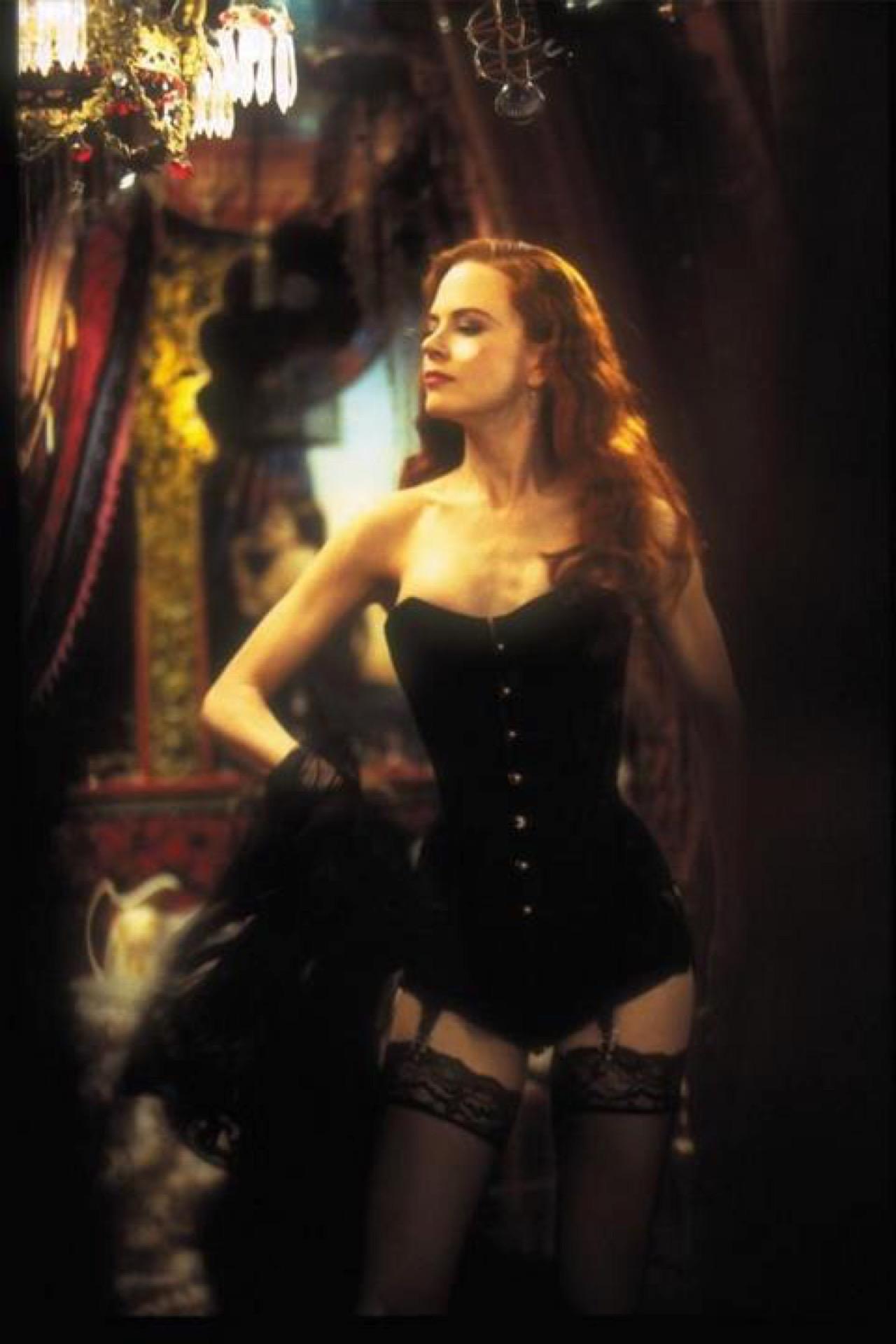 En Moulin Rouge (2010) Nicole Kidman volvió a la melena colorada, pero sin rulos.