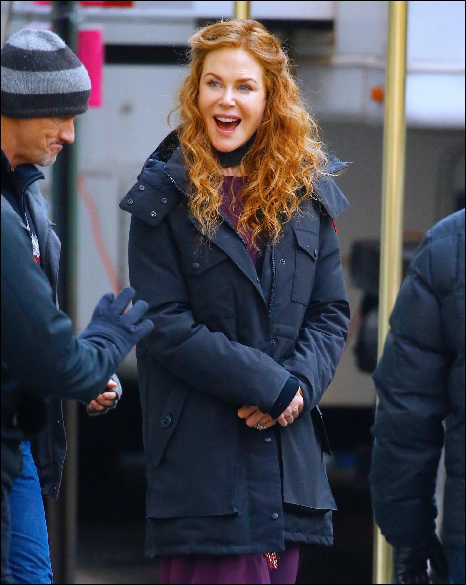 El deja vu de Nicole Kidman: otra vez con rizos colorados, como se dio a conocer en los ´90.