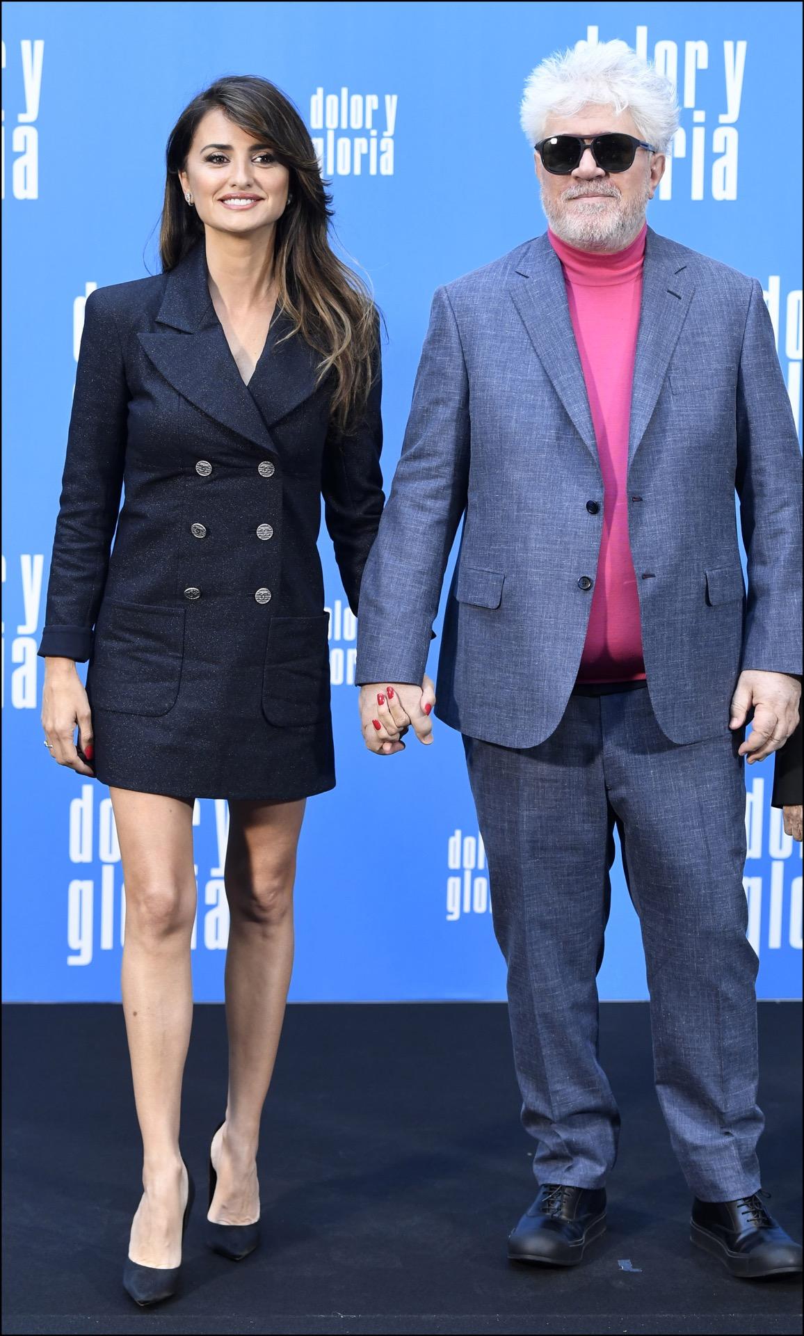 Penélope Cruz y Pedro Almodovar, otra vez juntos en una película.