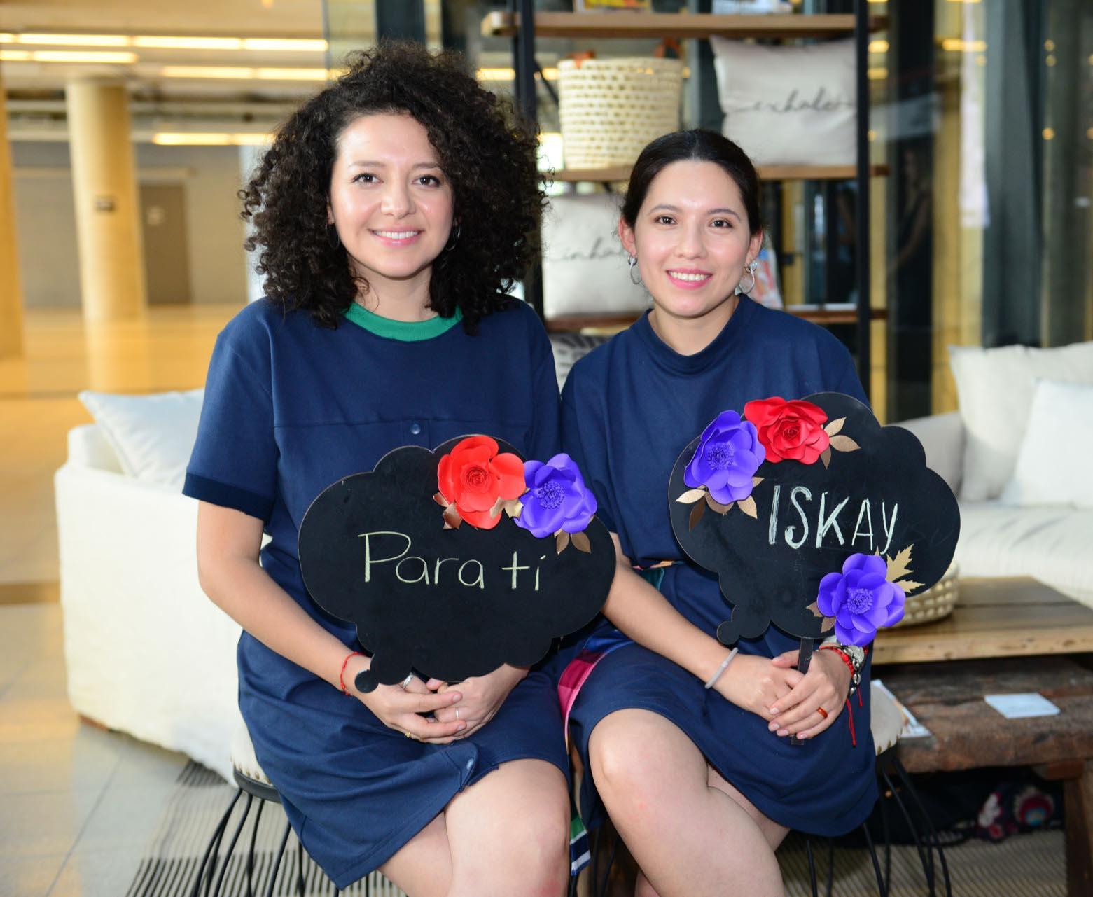 Tania Catacora y Susana Coba Gómez, diseñadoras de Iskay.