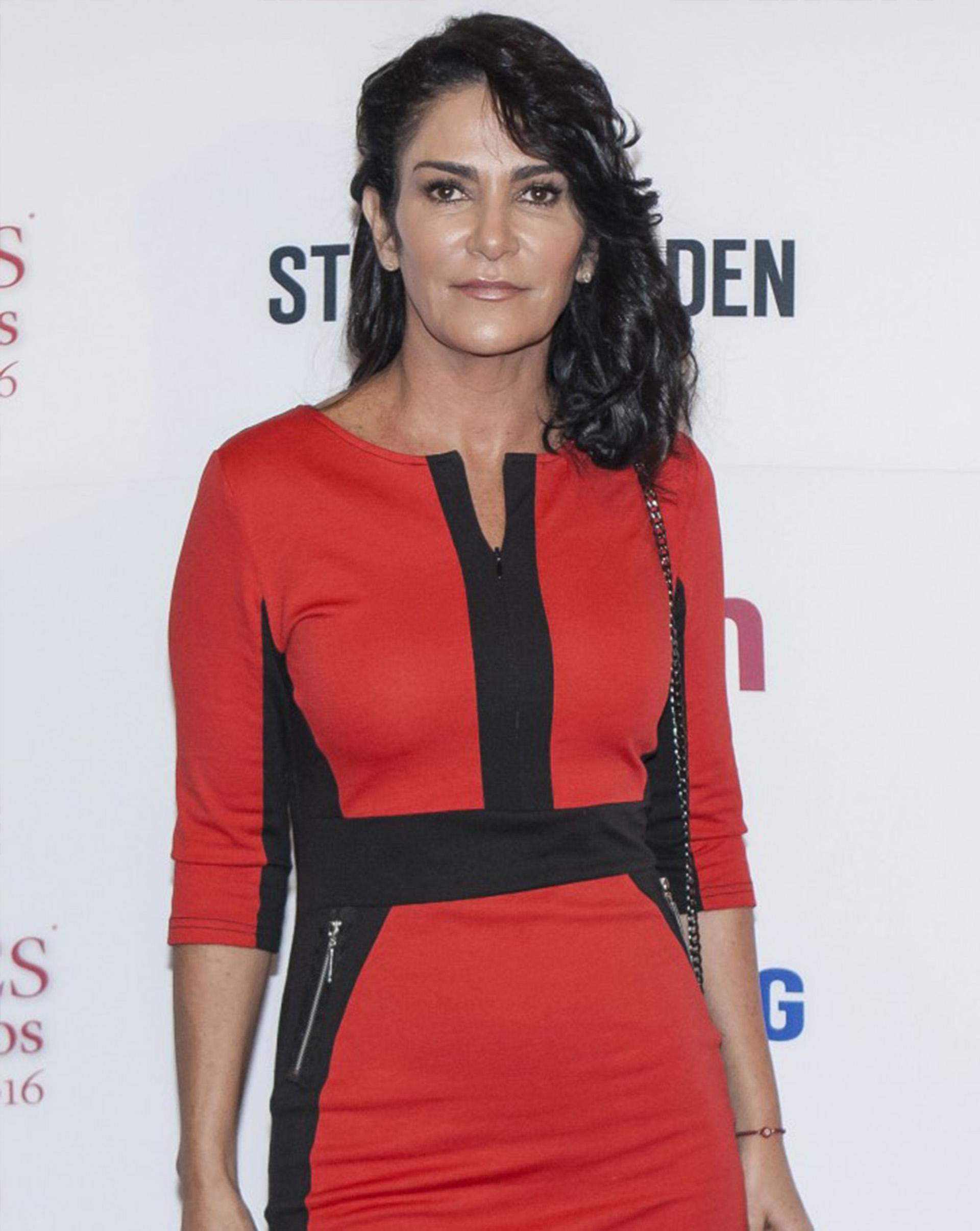 La periodista y escritora Lydia Cacho.