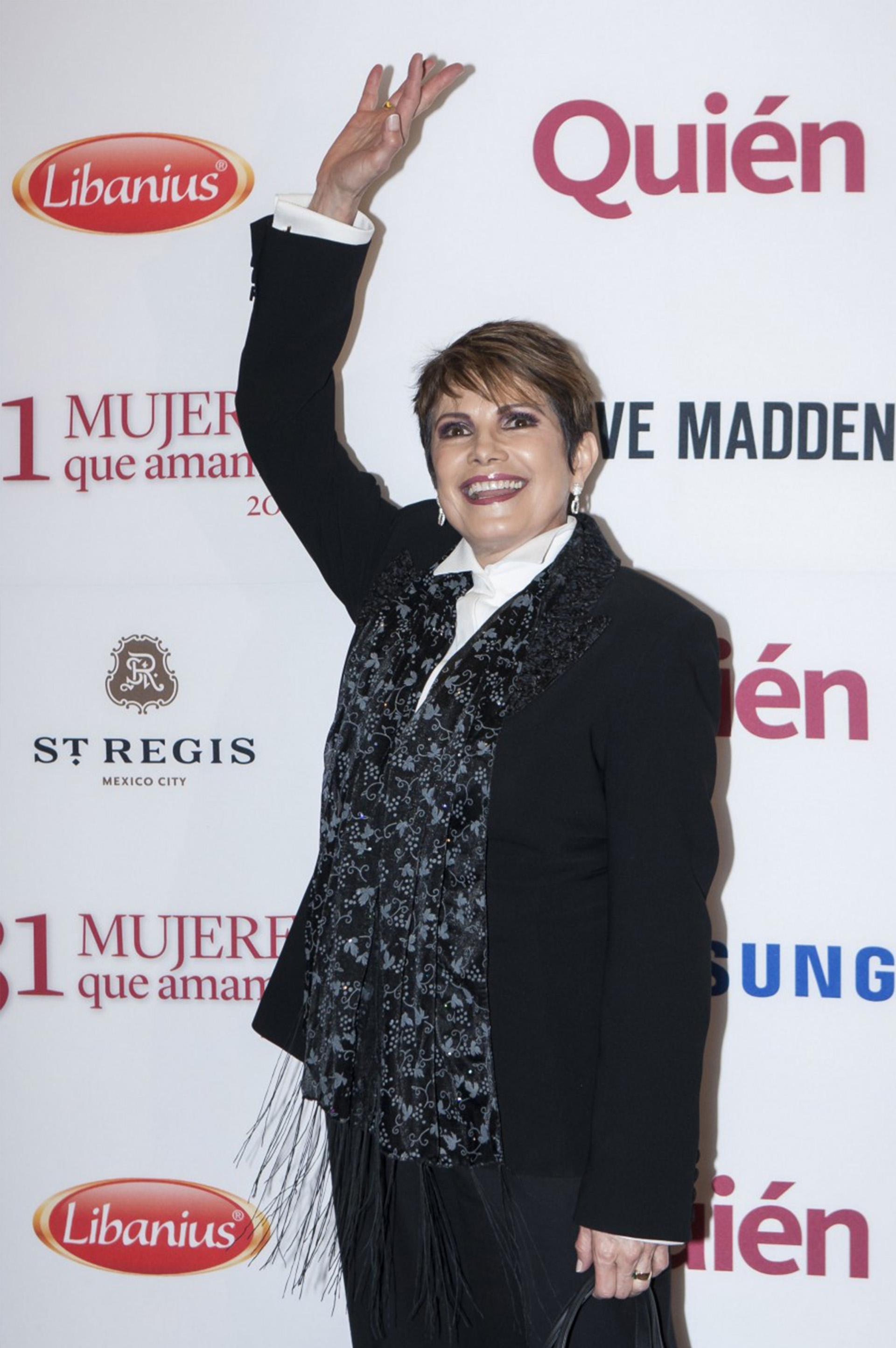 La periodista mexicana Adriana Perez Cañedo,