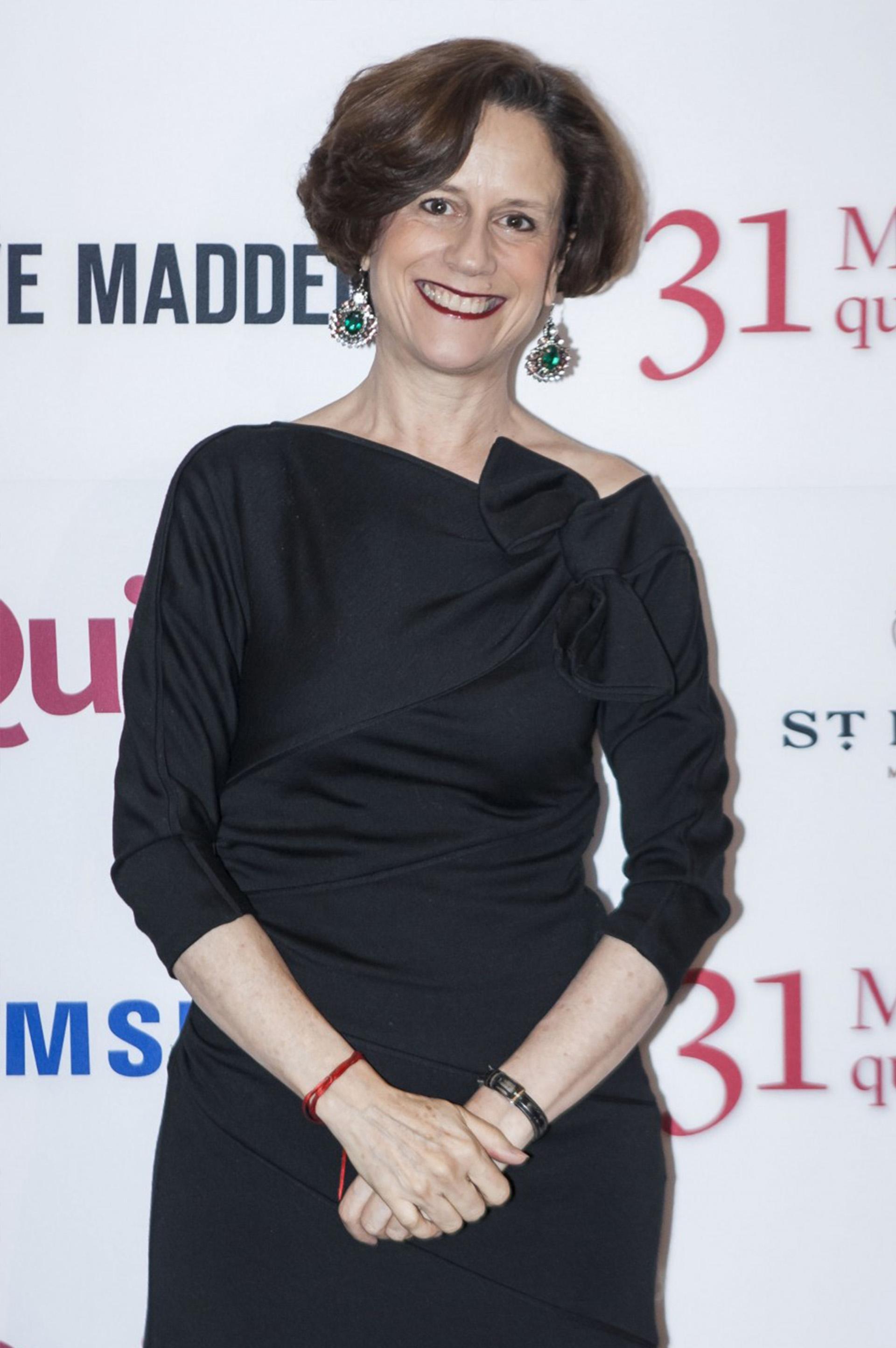 Denisse Dresser, analista de política y editorialista del periódico Reforma.