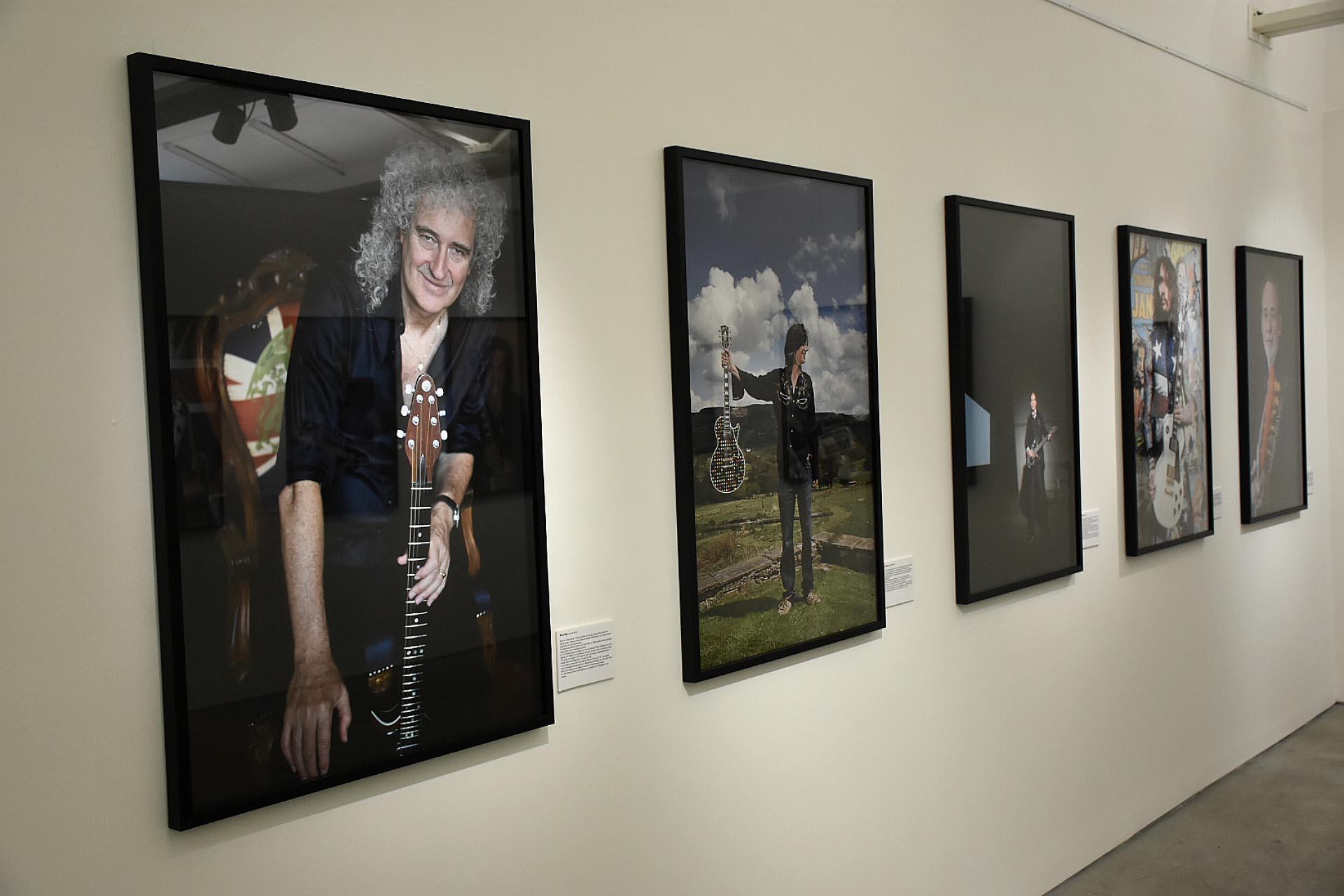 Brian May (Queen) y John Squire (The Stone Roses), entre otros (Nicolás Stulberg)