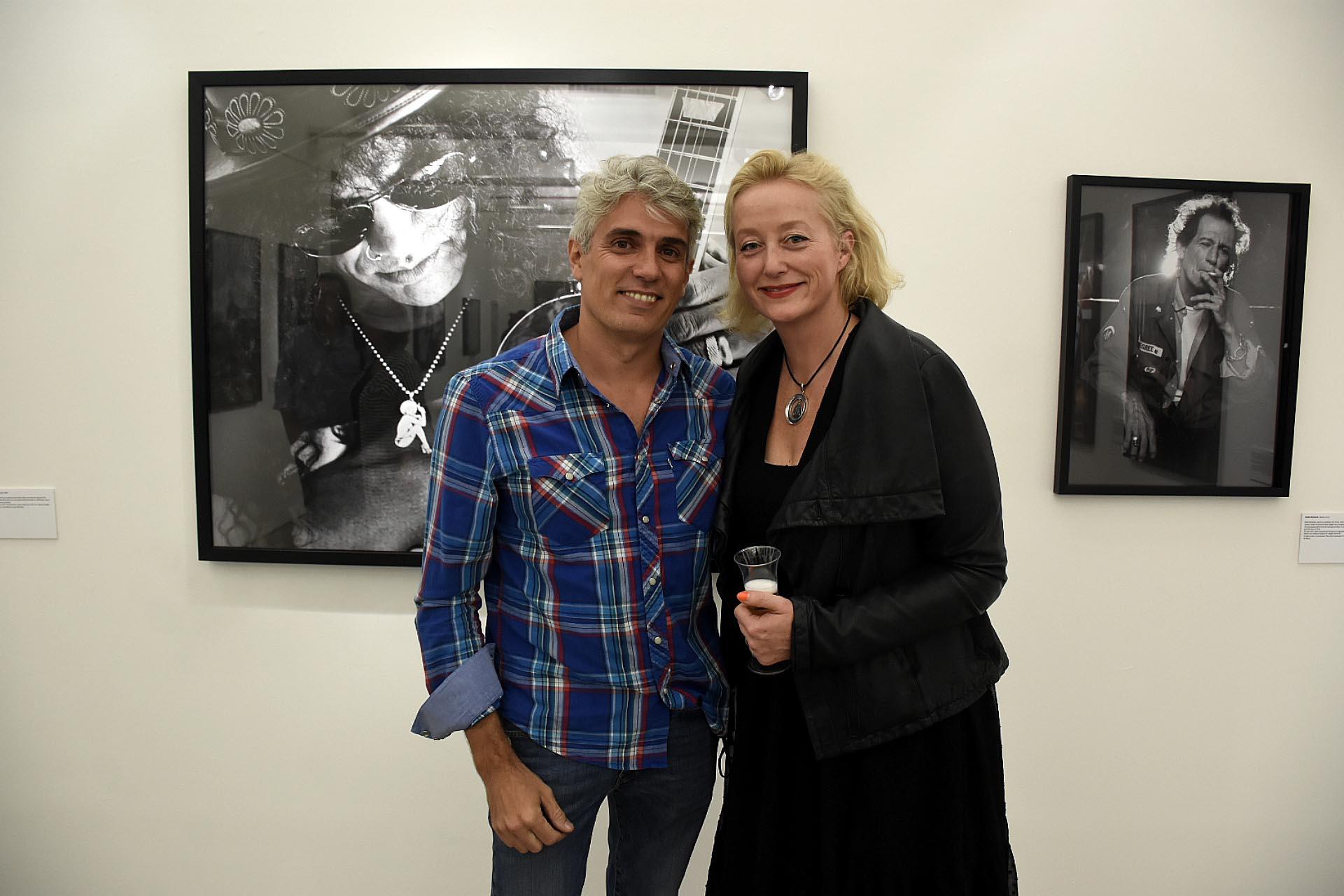 Junto a el artesano Carlos Daniel Pallarols